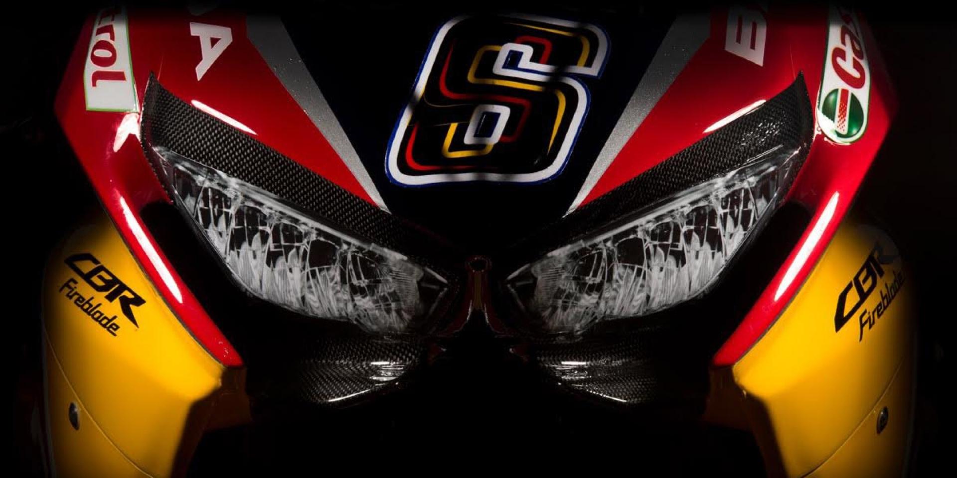 猛牛加持!Red Bull HONDA Superbike Team正式登場