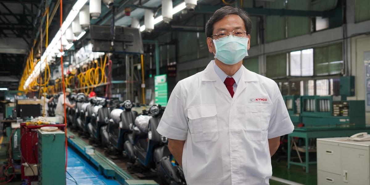 KYMCO執行長柯俊斌:年底新車登場,疫情、缺晶片因素產能延遲。KYMCO GP125領軍逆境反攻,邁向22連霸之路