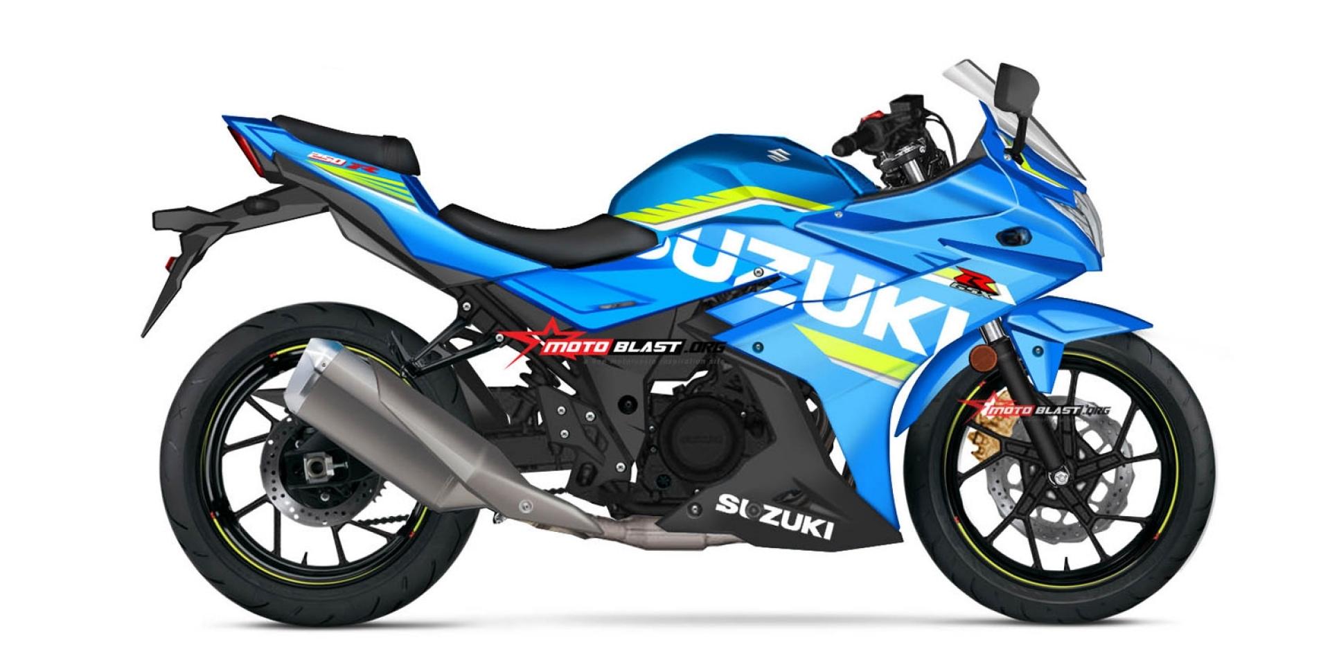SUZUKI GSX-R250路測間諜照流出。將於科隆車展發表!