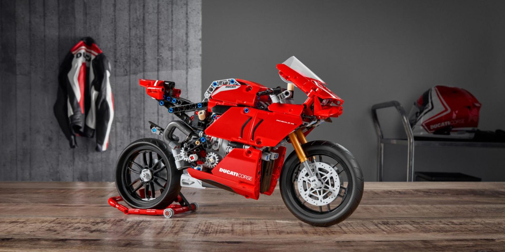 免賣腎也買得起!LEGO Technic推出Ducati Panigale V4 R
