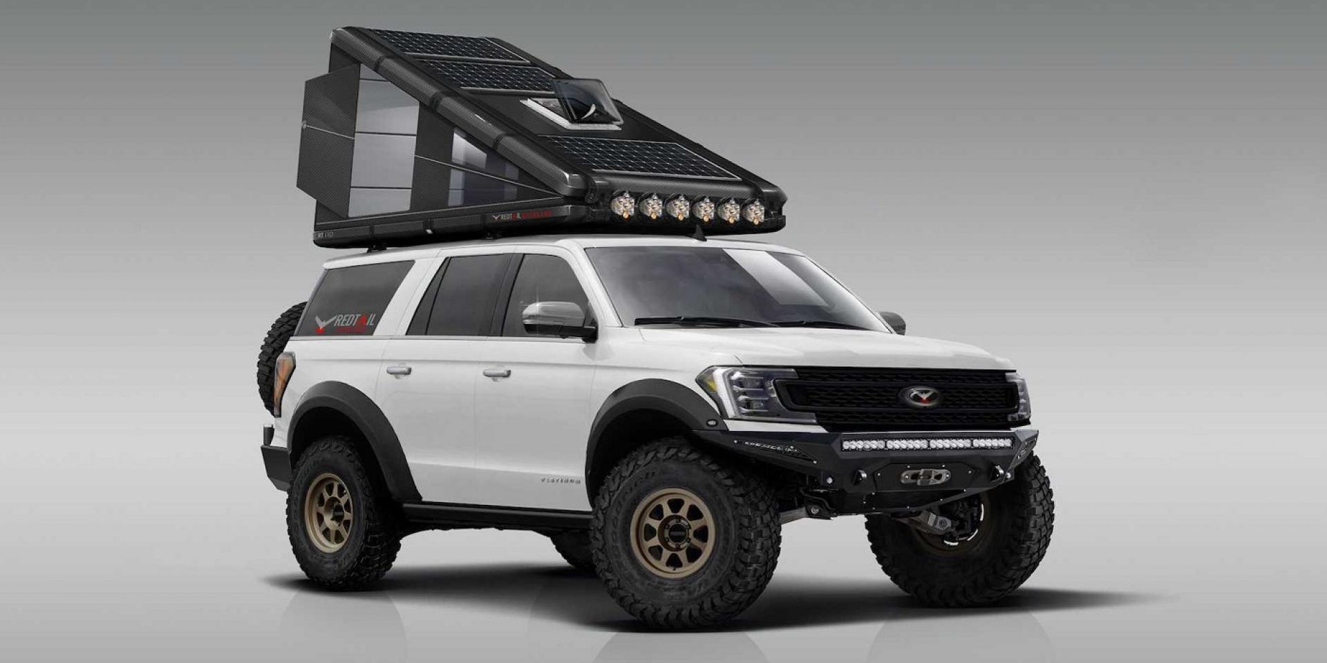 Redtail Overland碳纖維打造車頂帳,要價60萬元
