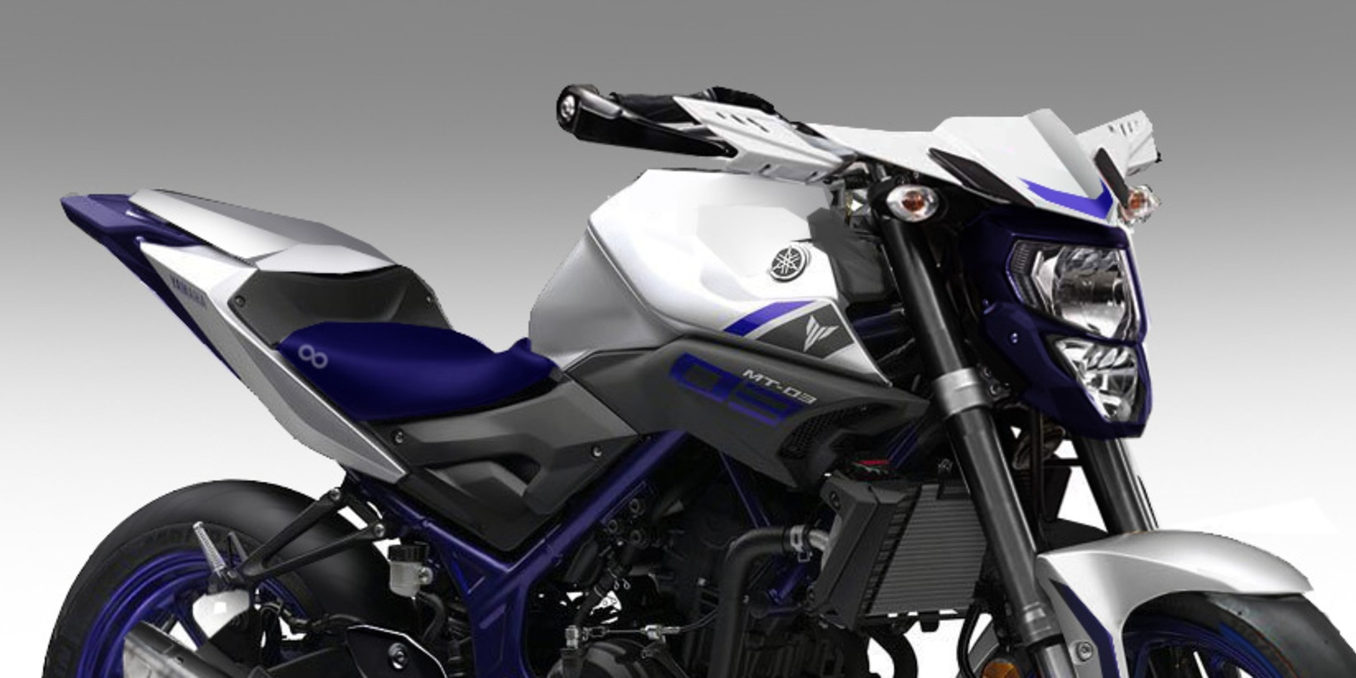 YAMAHA MT-03  Street Rally 紙上改車