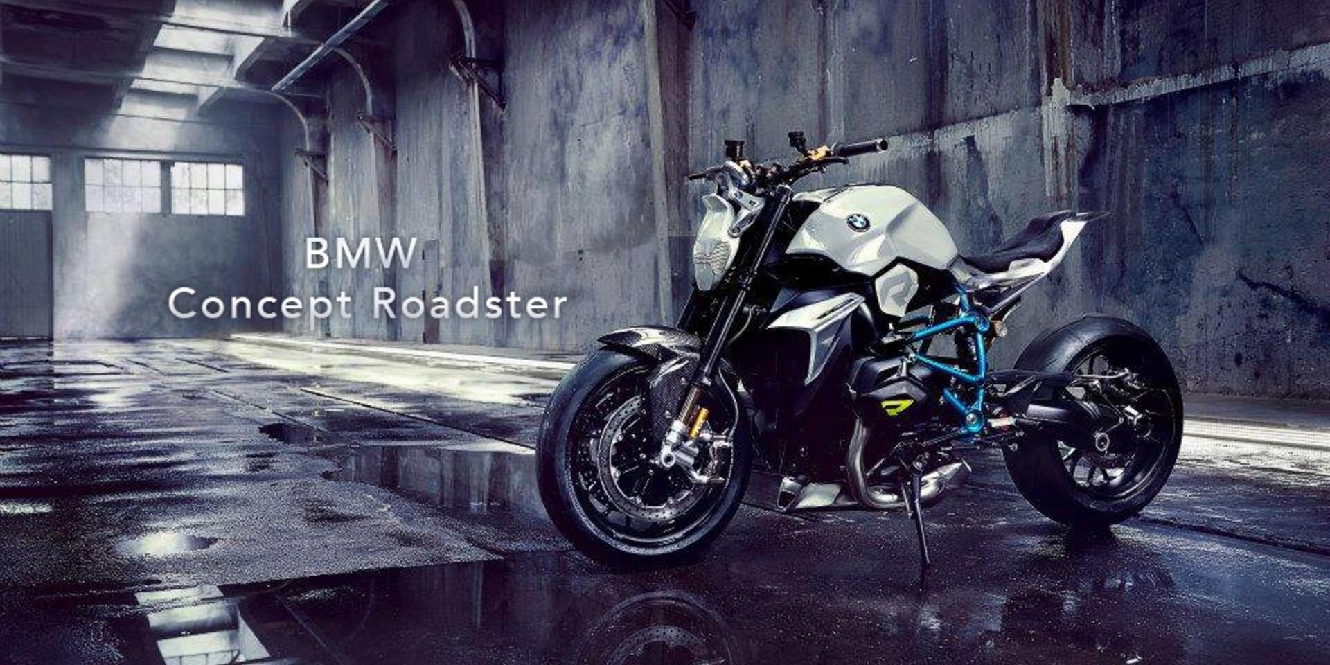 街車藍圖。BMW Concept Roadster 發表