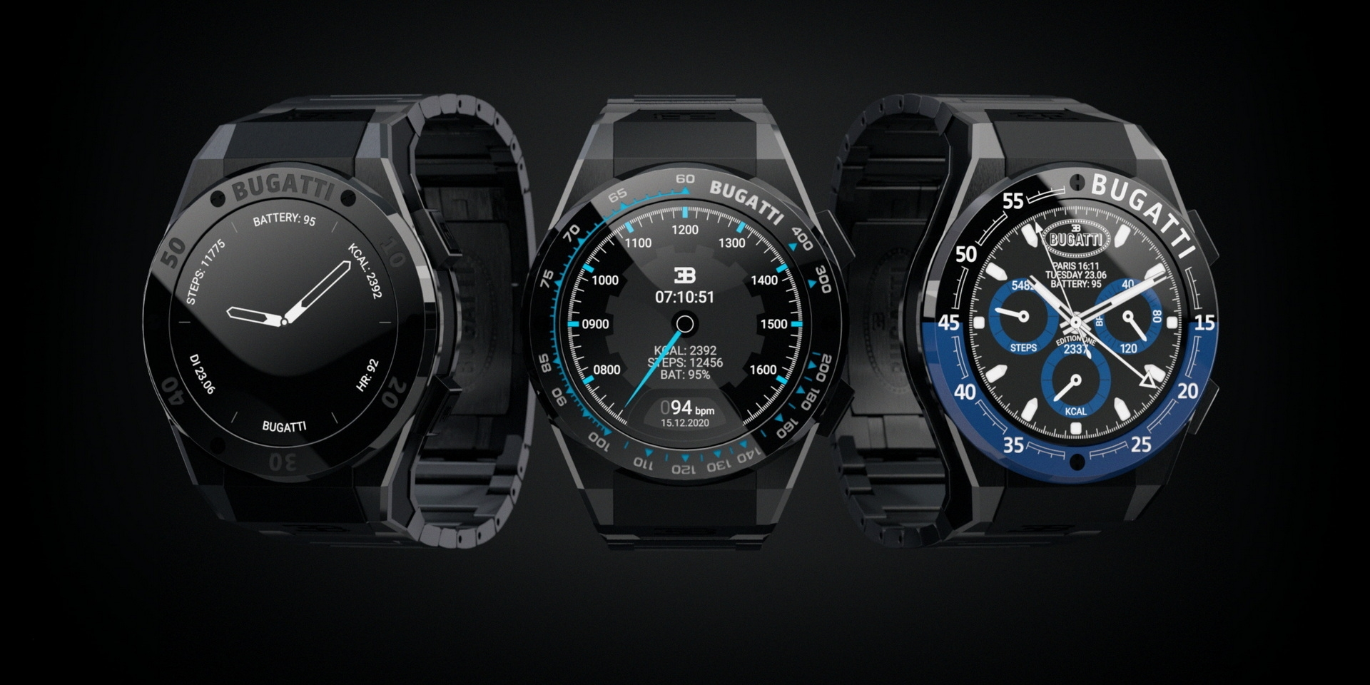 大家都買得起的Bugatti!與VIITA聯名打造智慧型手錶!