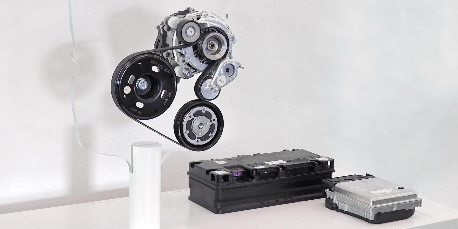 Volkswagen Golf 8代更節能,將用上48V輕型油電系統!