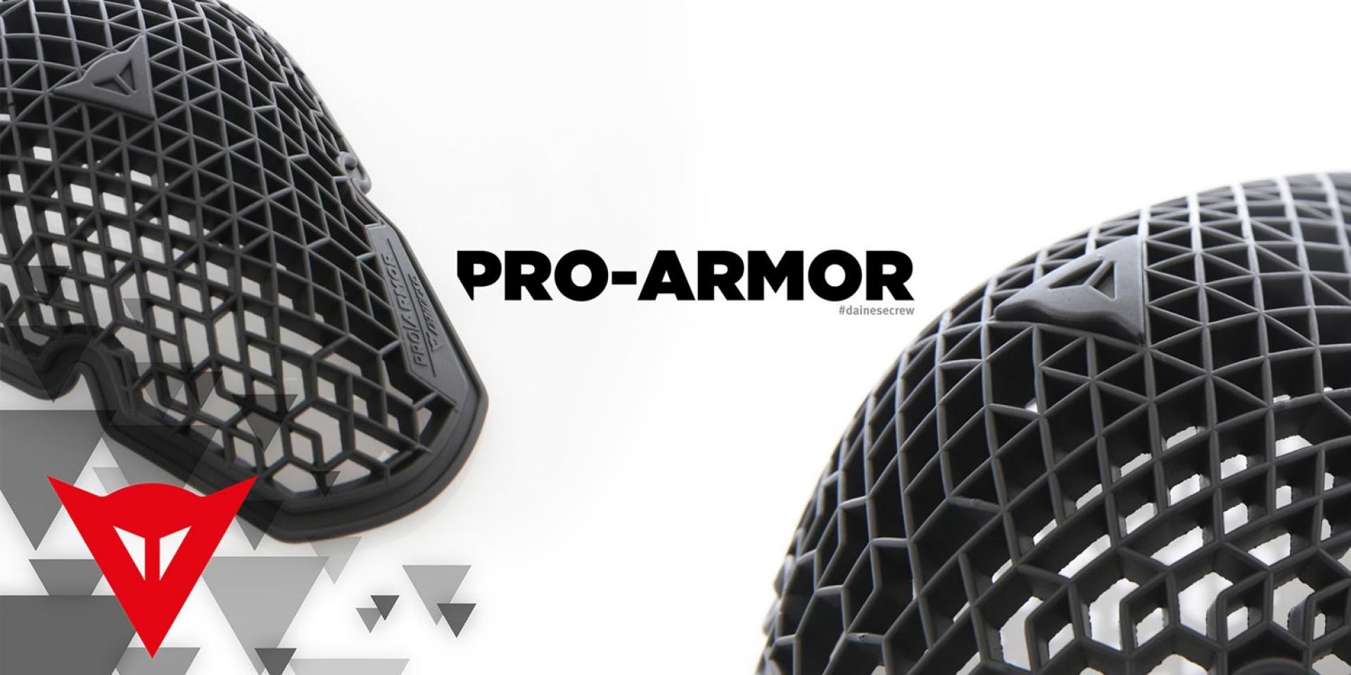 DAINESE Pro Armor護具。以自然為師極輕極涼