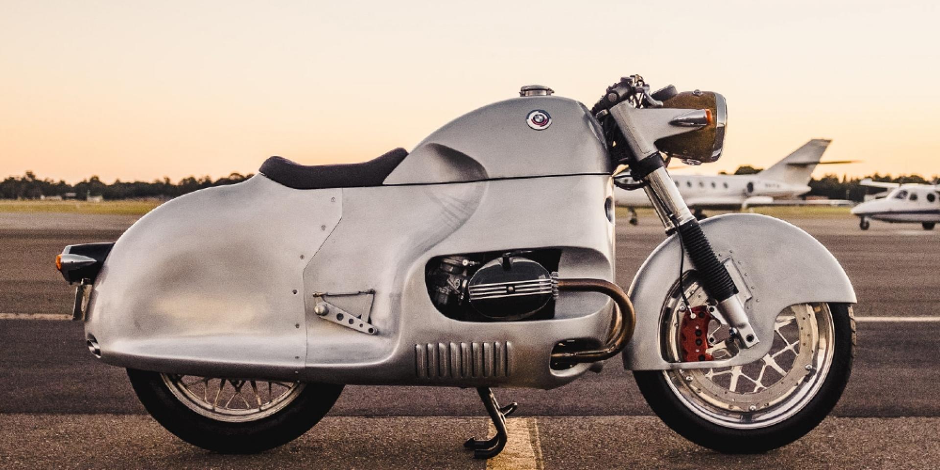 空氣力學之最,MotoRRetro改造BMW R100 RS