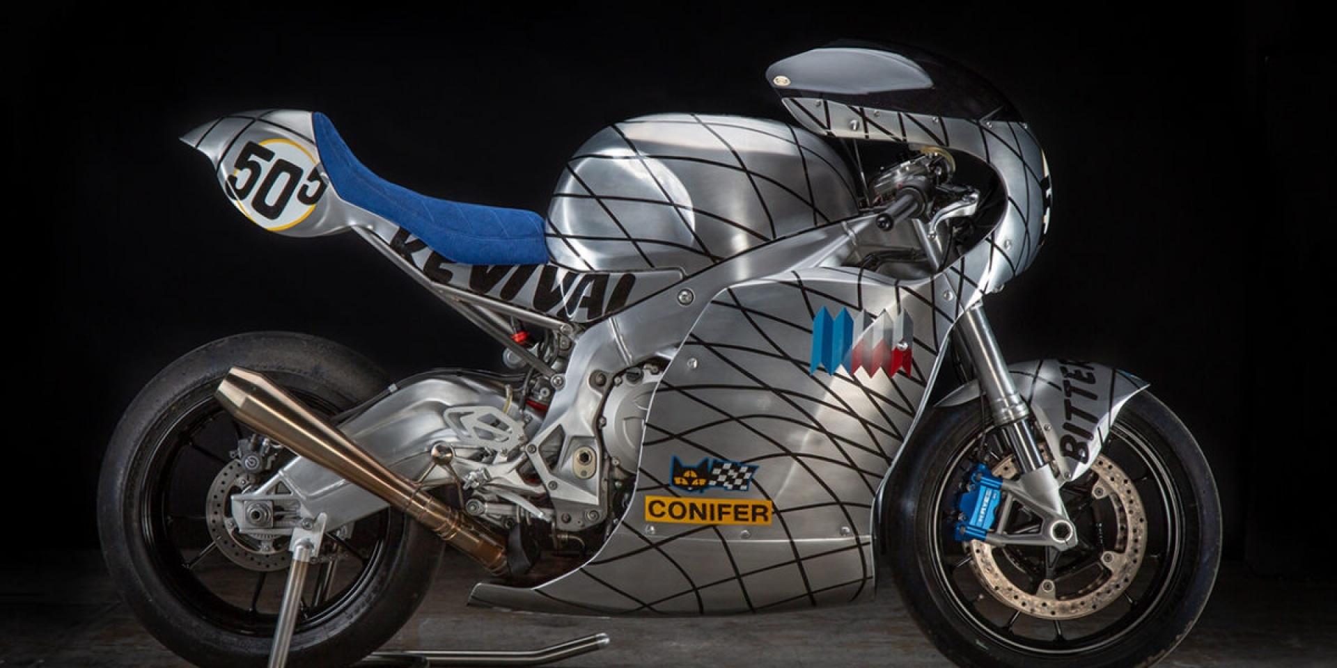 文藝,以金屬之名復興- BMW S1000RR by Revival