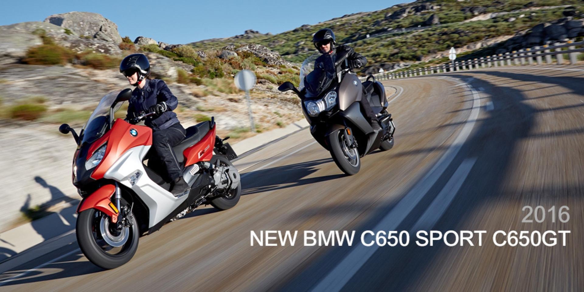 日耳曼的反擊。2016 BMW C650sport & C650GT全面再進化