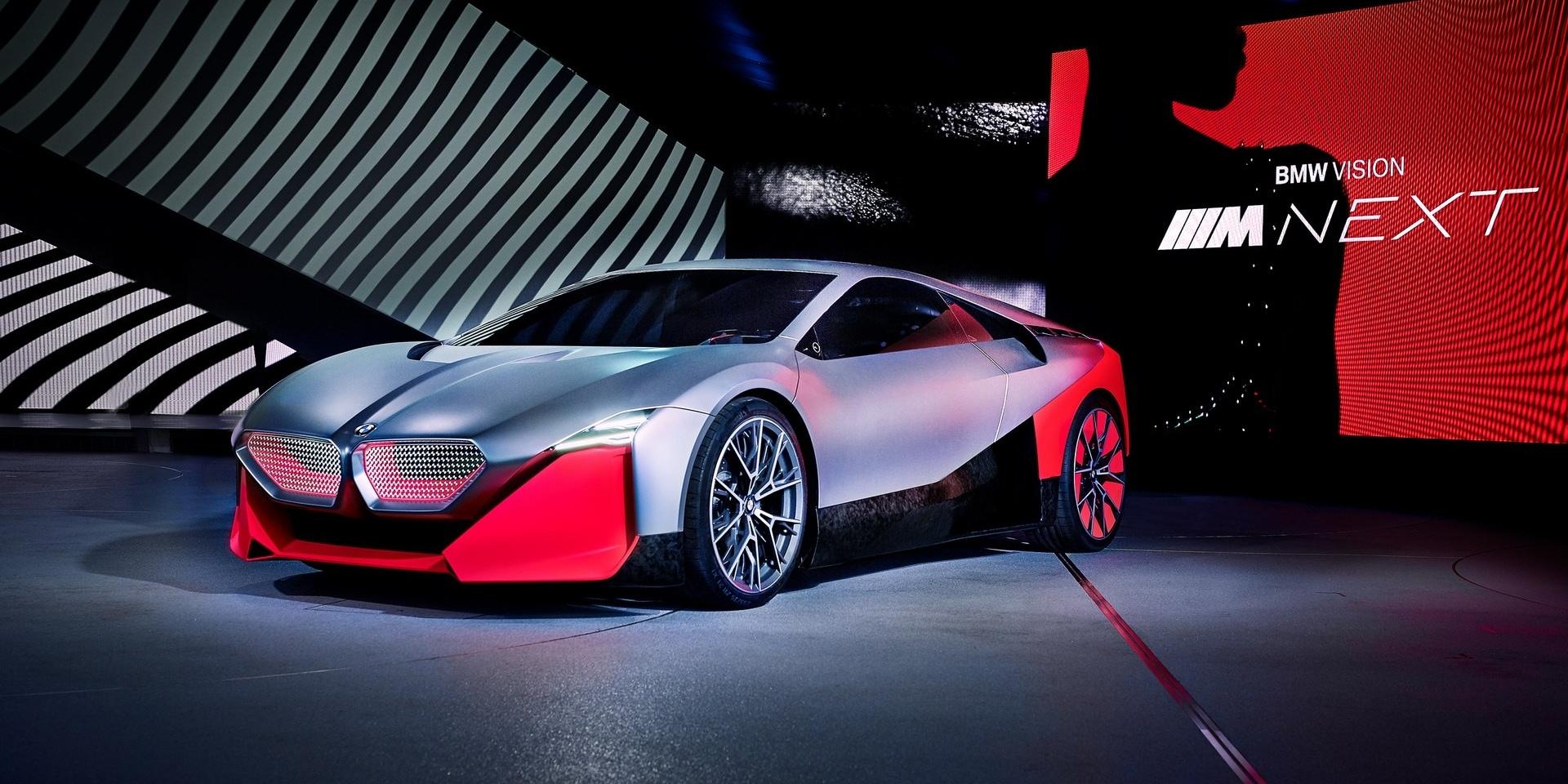 性能與智慧的結晶,BMW Vision M NEXT概念現身