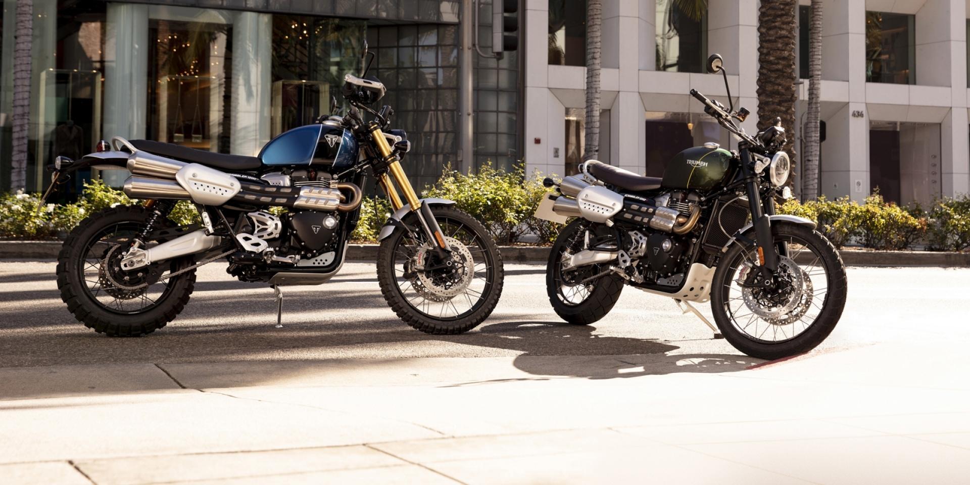 英倫越野風。Triumph Scrambler 1200海外發表