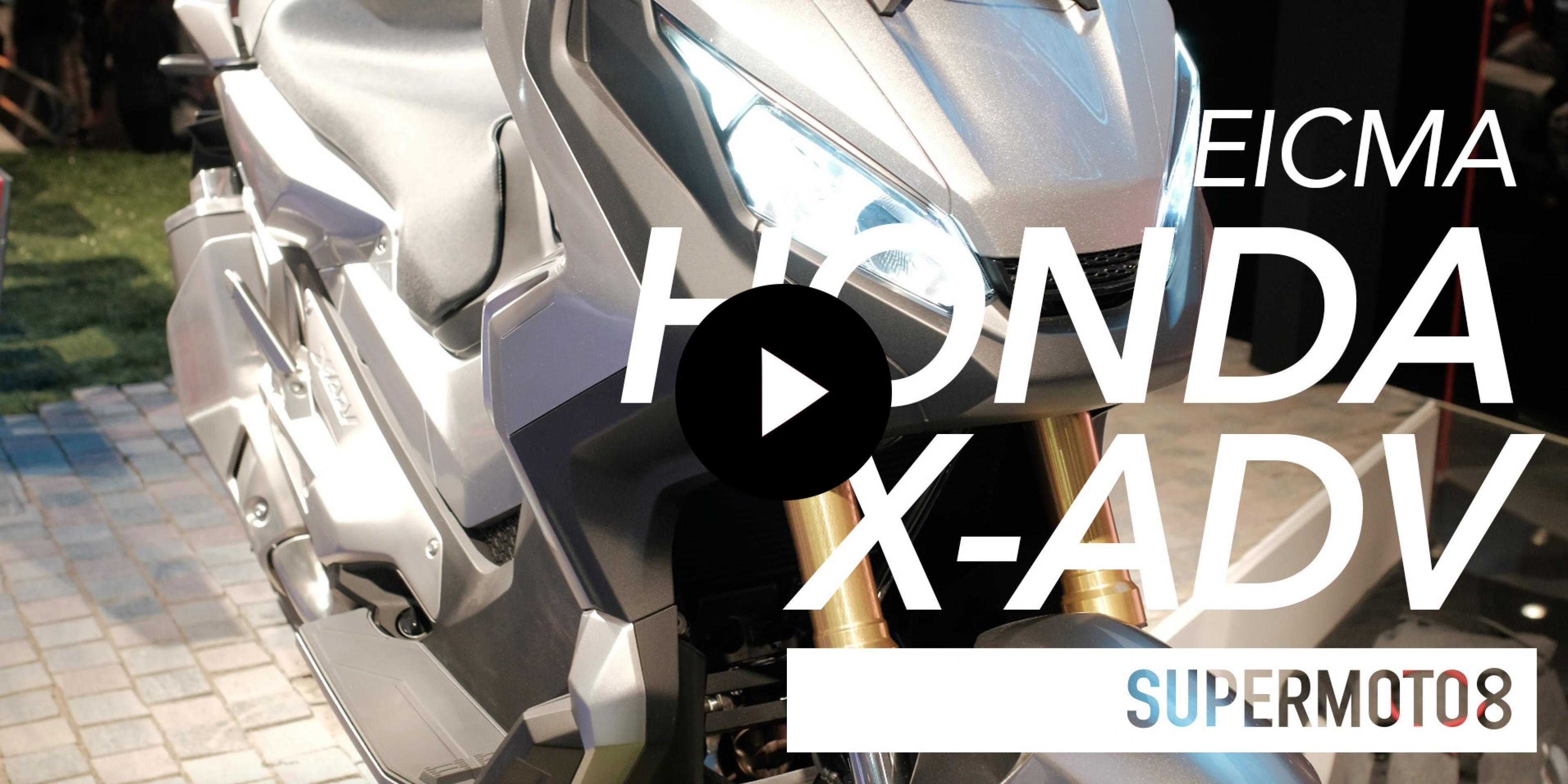 2017 HONDA X-ADV EICMA米蘭車展實拍