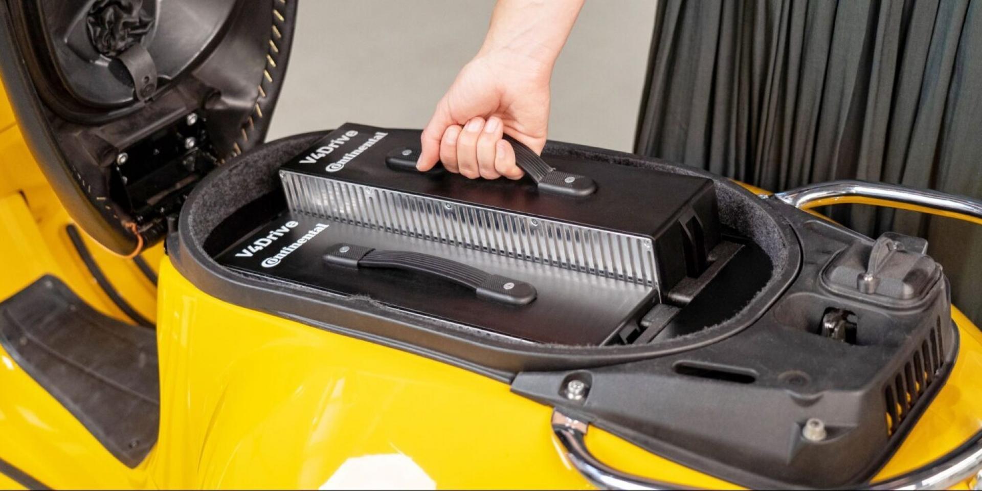 德國馬牌加入電動機車戰局!與Varta合作開發電池系統!