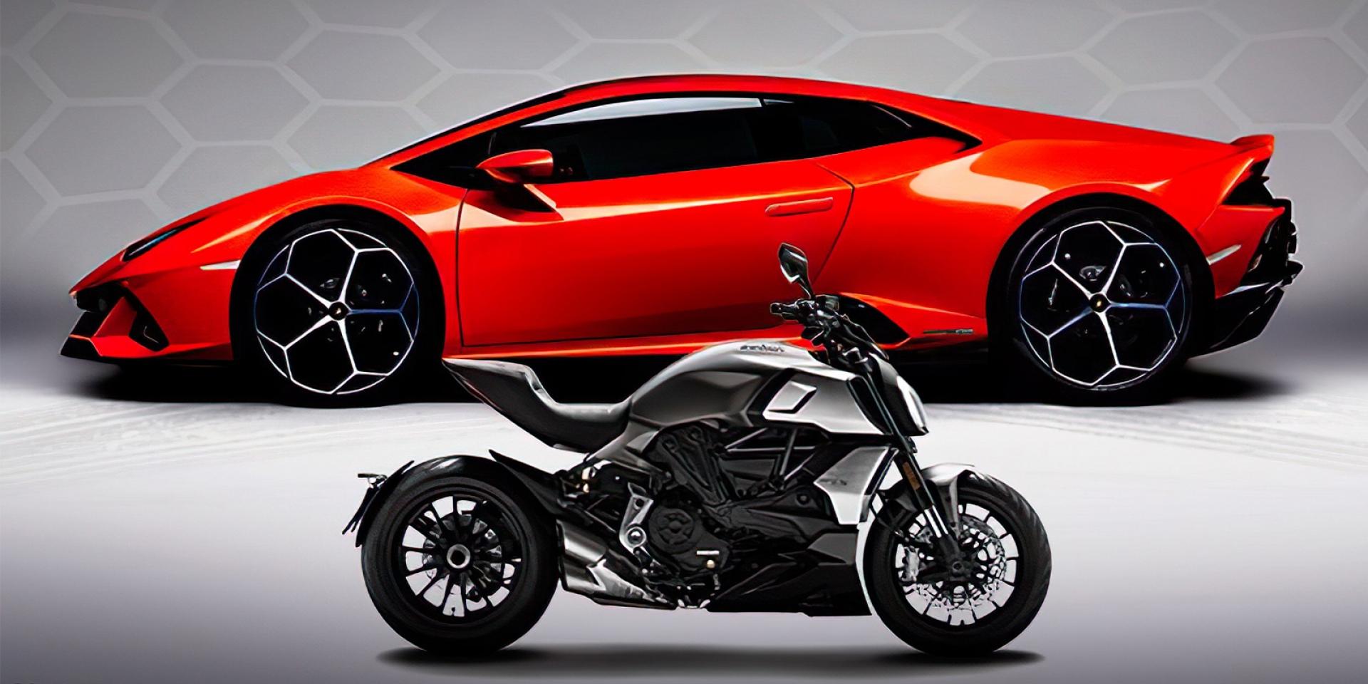 超牛聯名!DUCATI三款新車曝光,Diavel 1260 Lamborghini 聯名特仕車準備登場