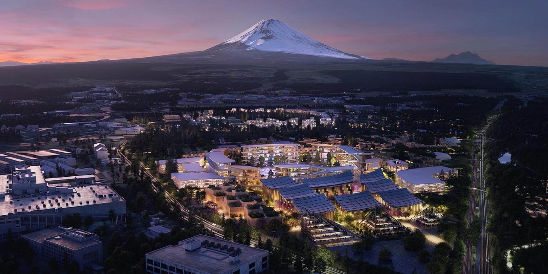 住在Toyota裡不是夢!Toyota不只做汽車,富士山腳創造新城市