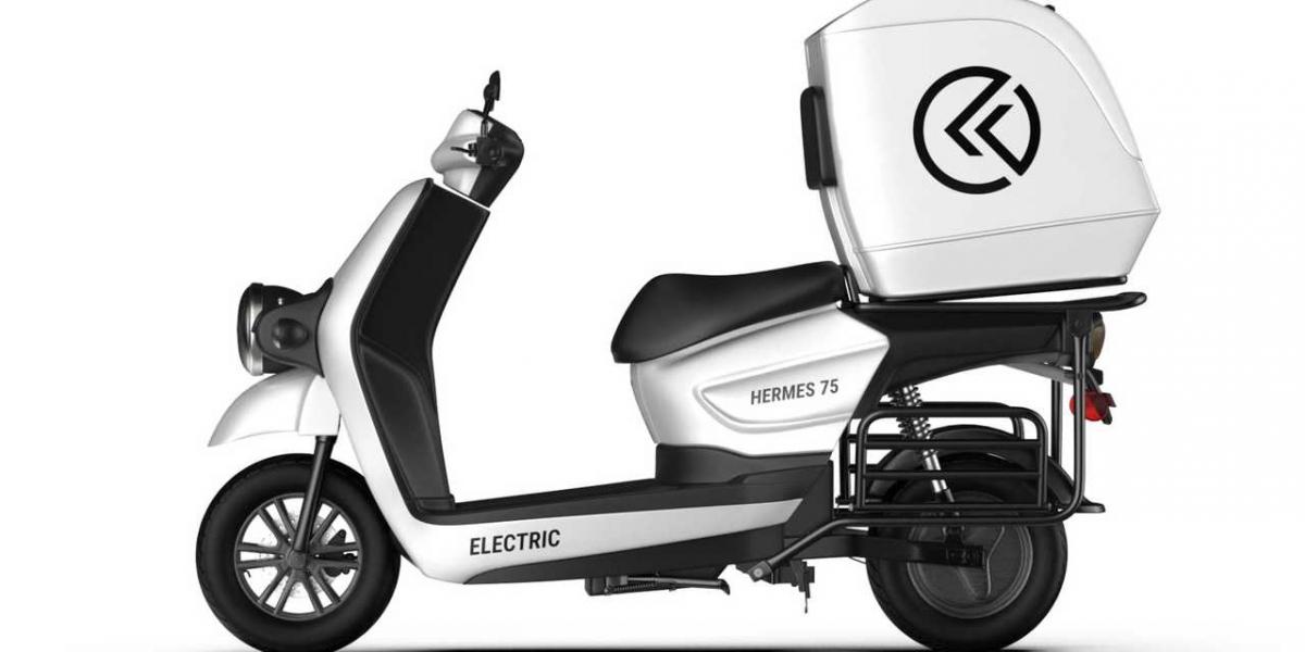 愛馬仕電動機車 ? Kabira Mobility全新推出B2B 商用電動機車Hermes 75