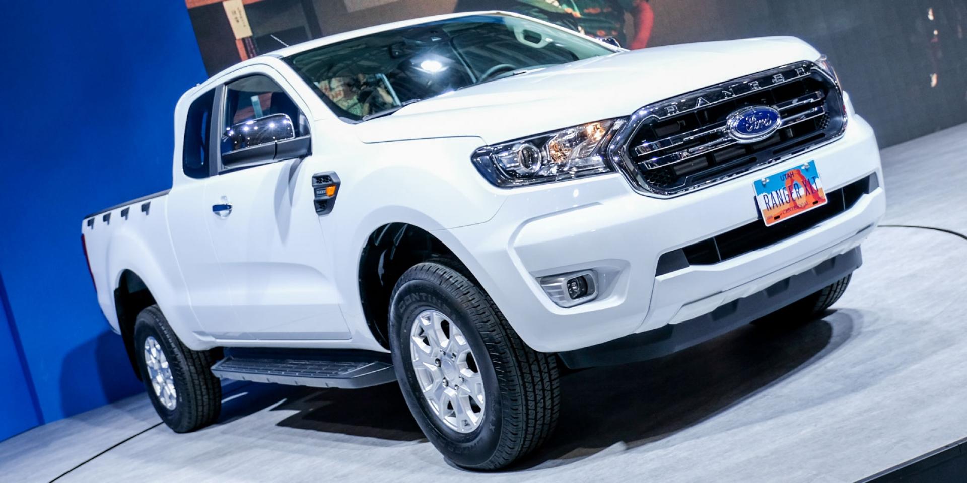 2020世界新車大展。Ford展區雙車發表,Tourneo Connect即將導入?
