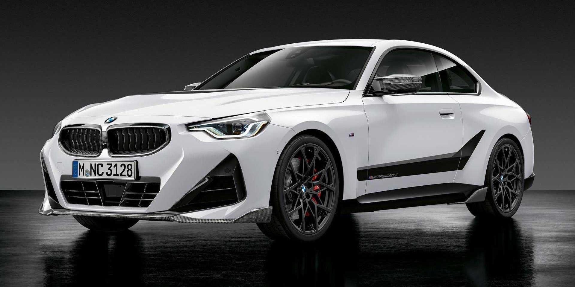 新BMW M2明年上市,2系列M Performance套件先擋著用