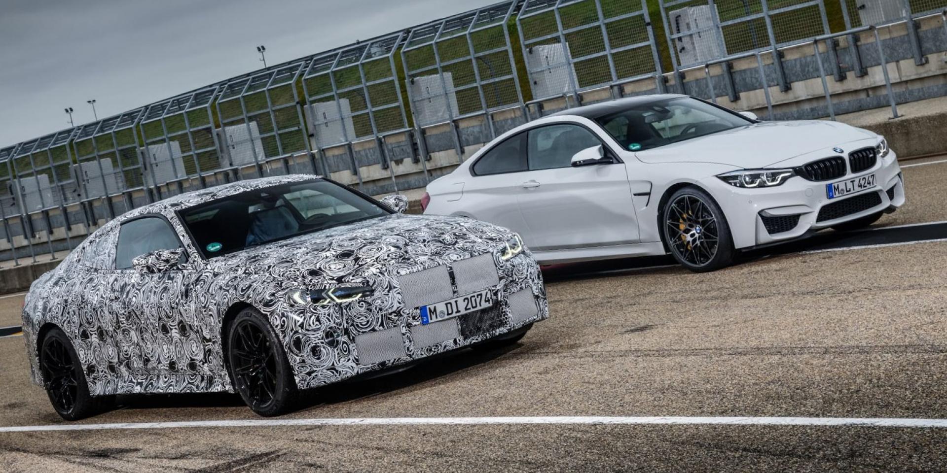 有手排與四輪驅動!2021 BMW M3/M4進入測試最終階段