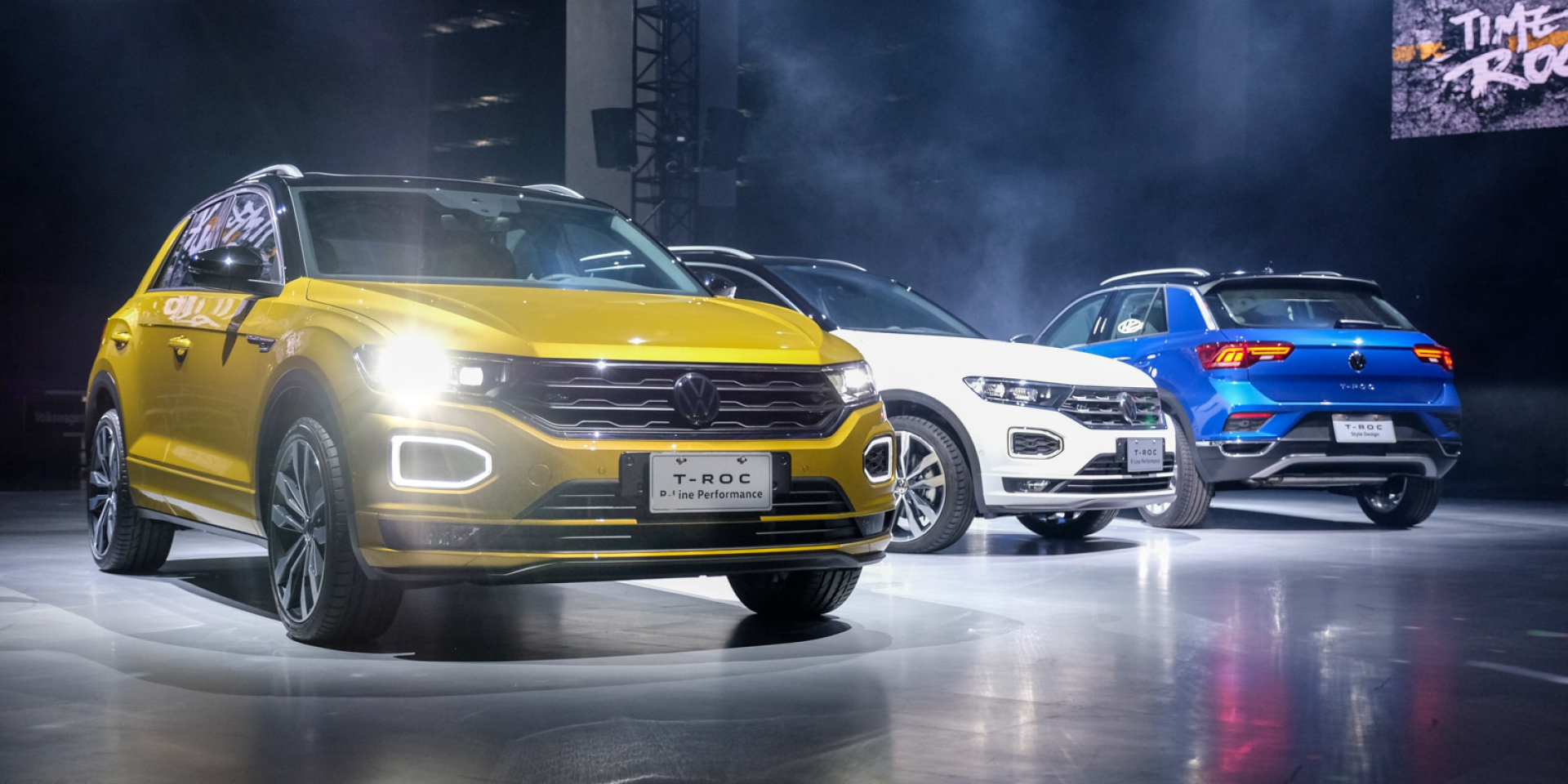 新增入門級距,104.8萬享帥氣跑格 滿分安全Volkswagen The T-Roc正式發表