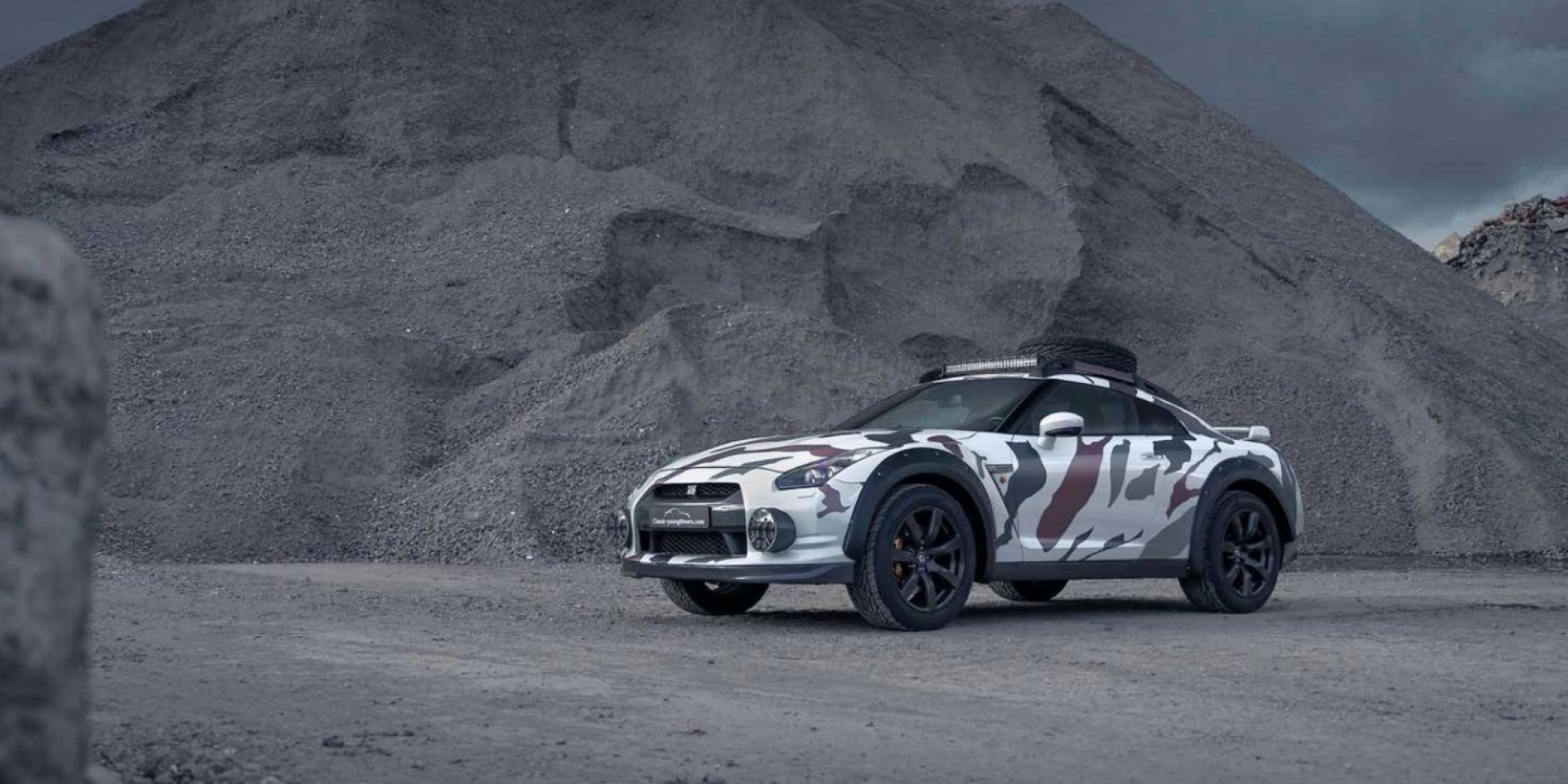 超越你的想像,Nissan GT-R變身強悍越野車