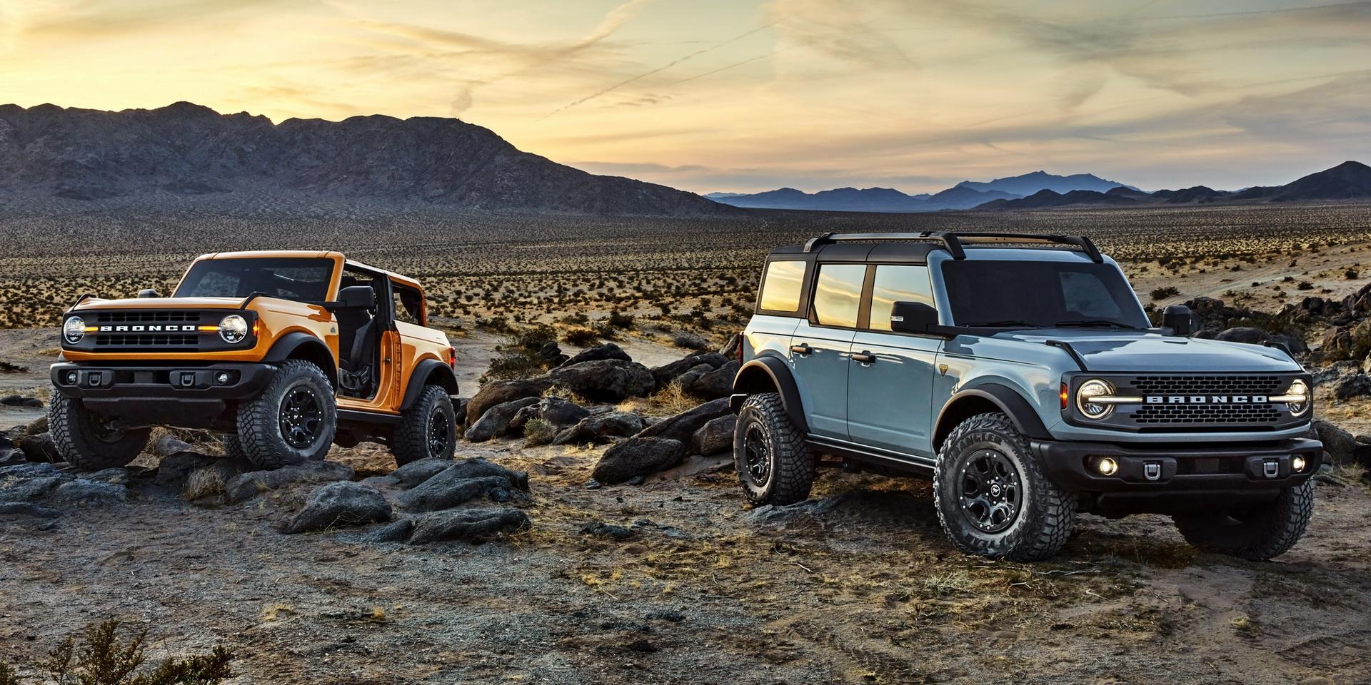 硬派越野車另一巨作,Ford Bronco售價約台幣88萬元起