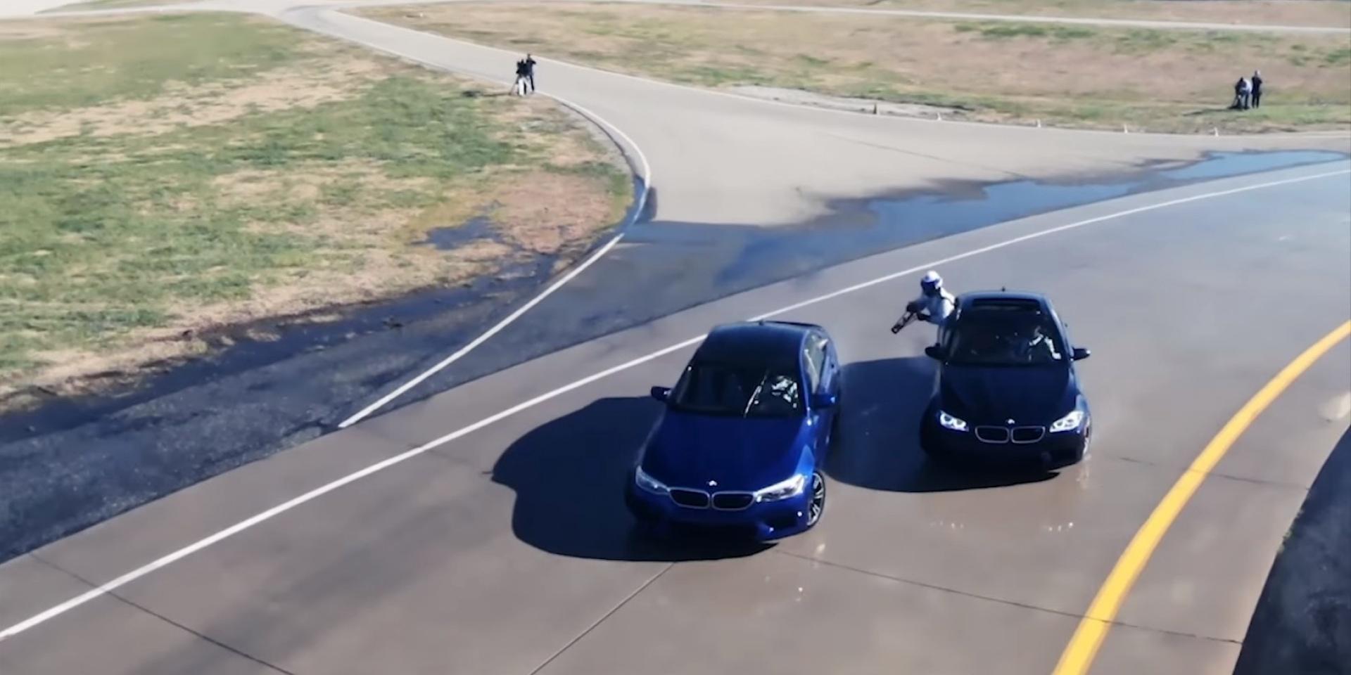 BMW M5連續漂移8小時,邊甩邊加油創下全新金氏世界紀錄!