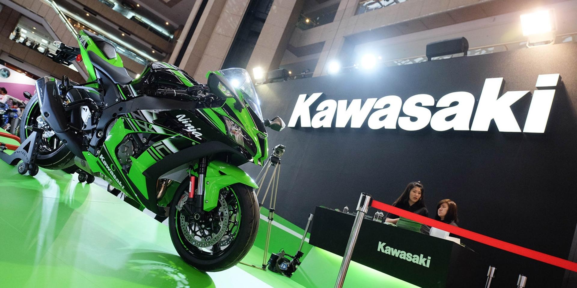 世貿車展。忍者大軍新成員2017 KAWASAKI Z650、Ninja 1000低調登場