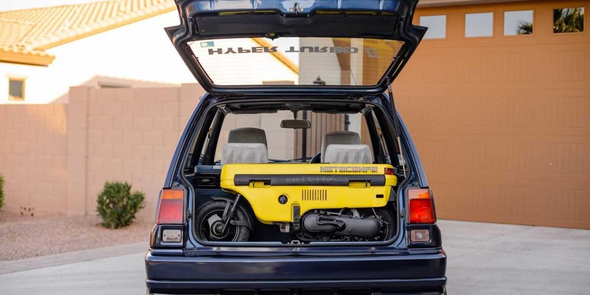 Honda Motocompo可折疊機車再現?Hyundai最新專利令人期待!