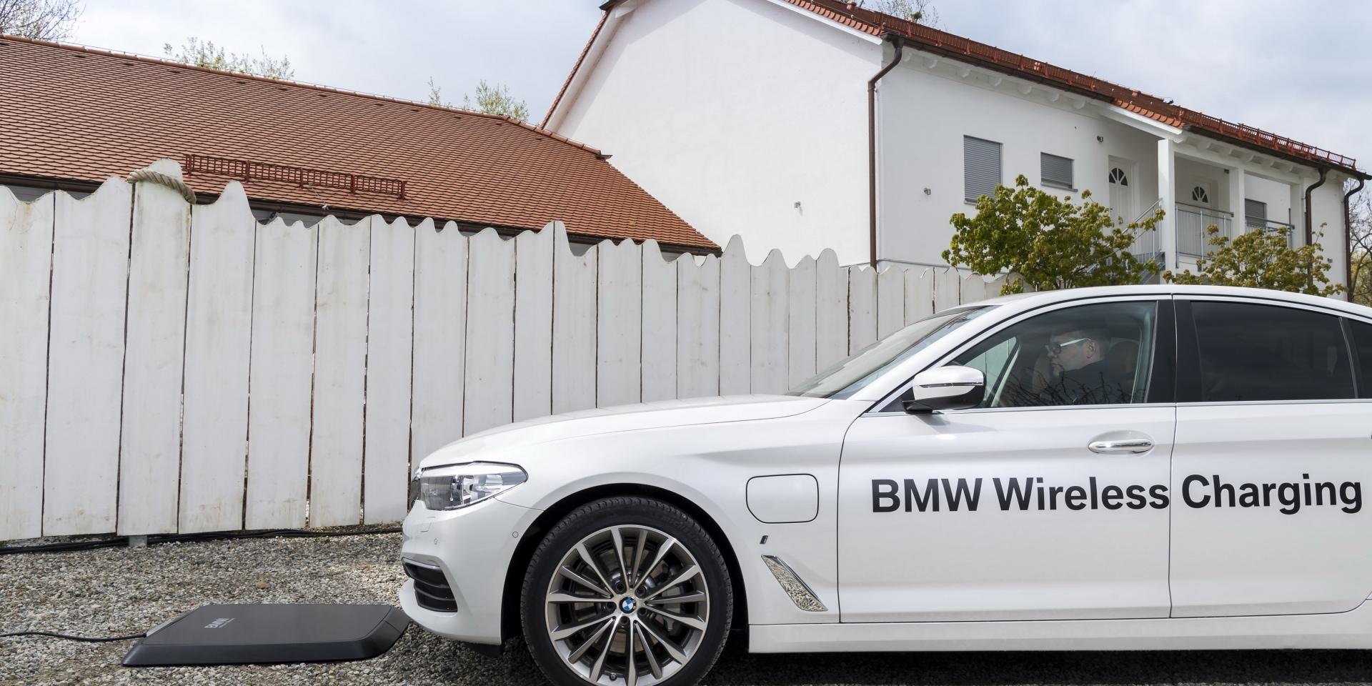 無線才方便! BMW宣布2018年將推無線充電技術