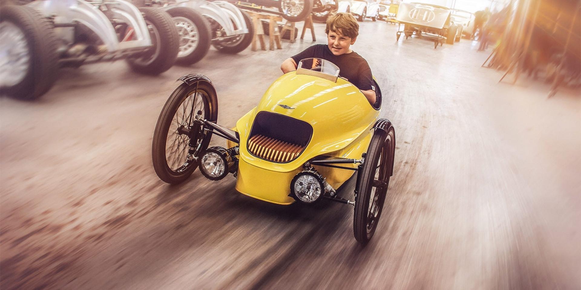 尊貴不凡。Morgan EV3 Junior超細緻童車