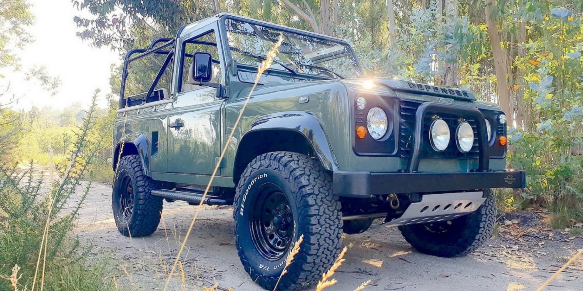 Legacy Overland客製化Land Rover Defender 90復出