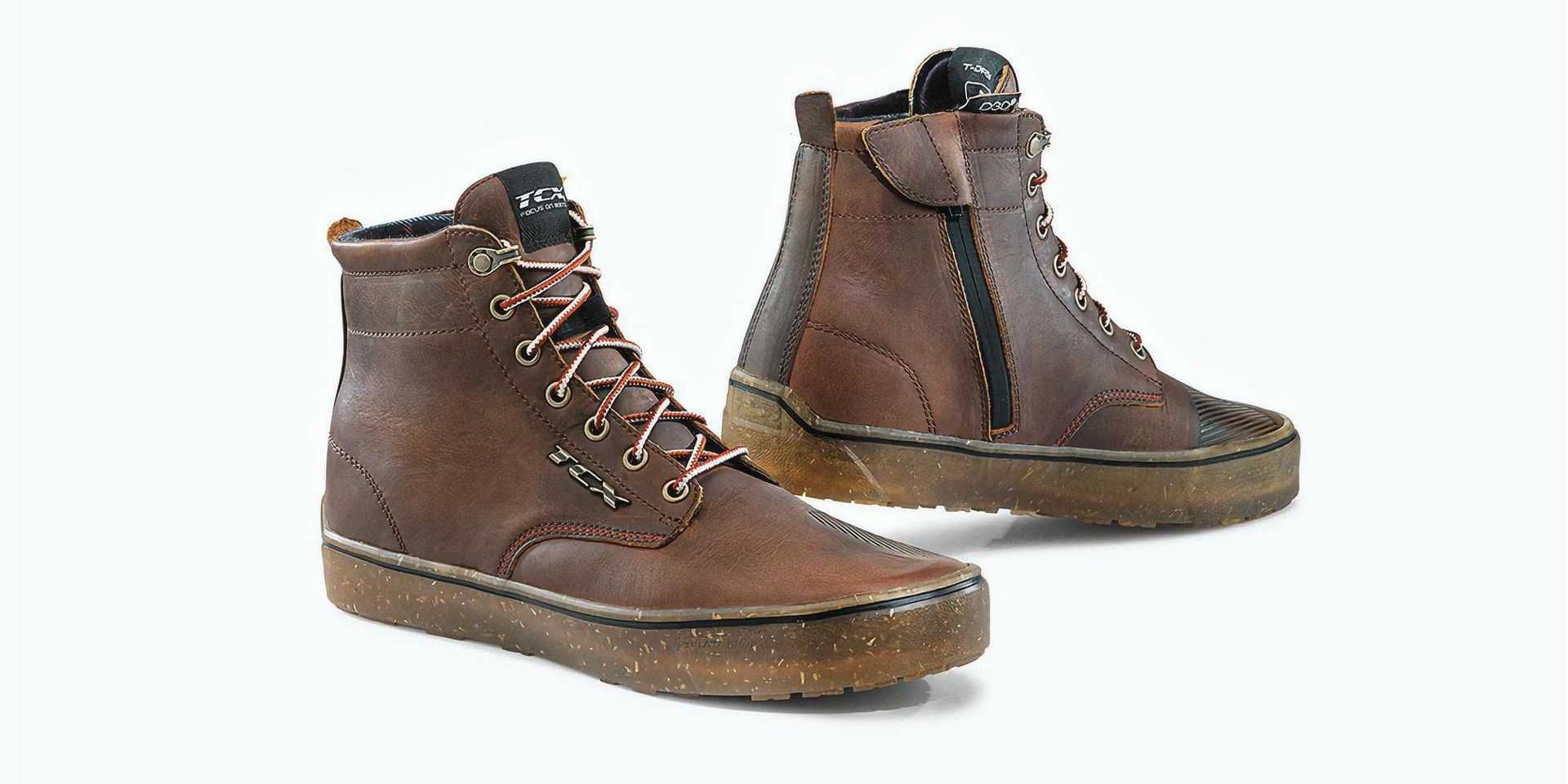 時尚與實用,兩者兼具。義大利 TCX 防水復古休閒車靴