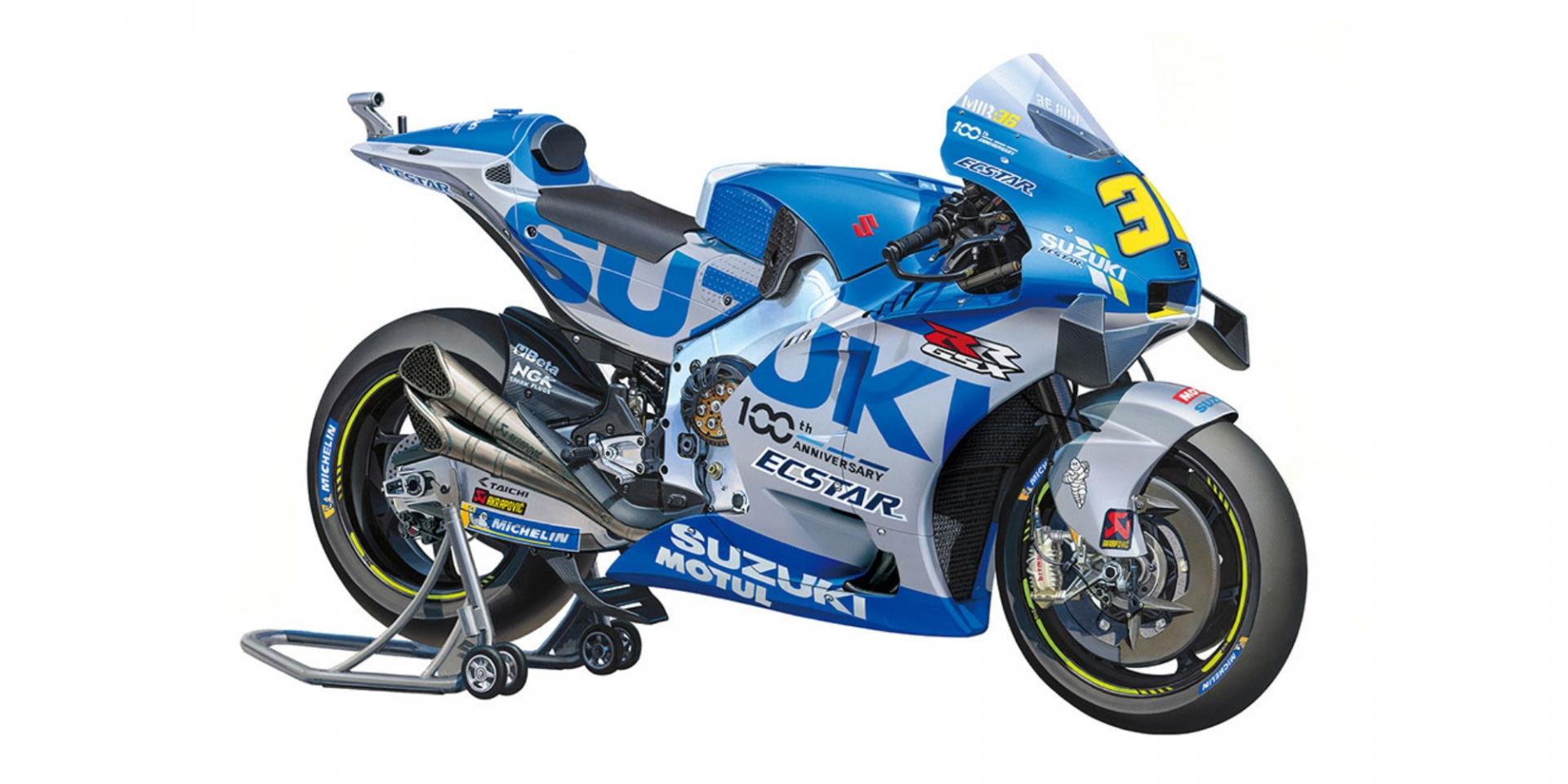 田宮Tamiya睽違五年推出MotoGP模型 1/12 Suzuki GSX-RR 20登場!