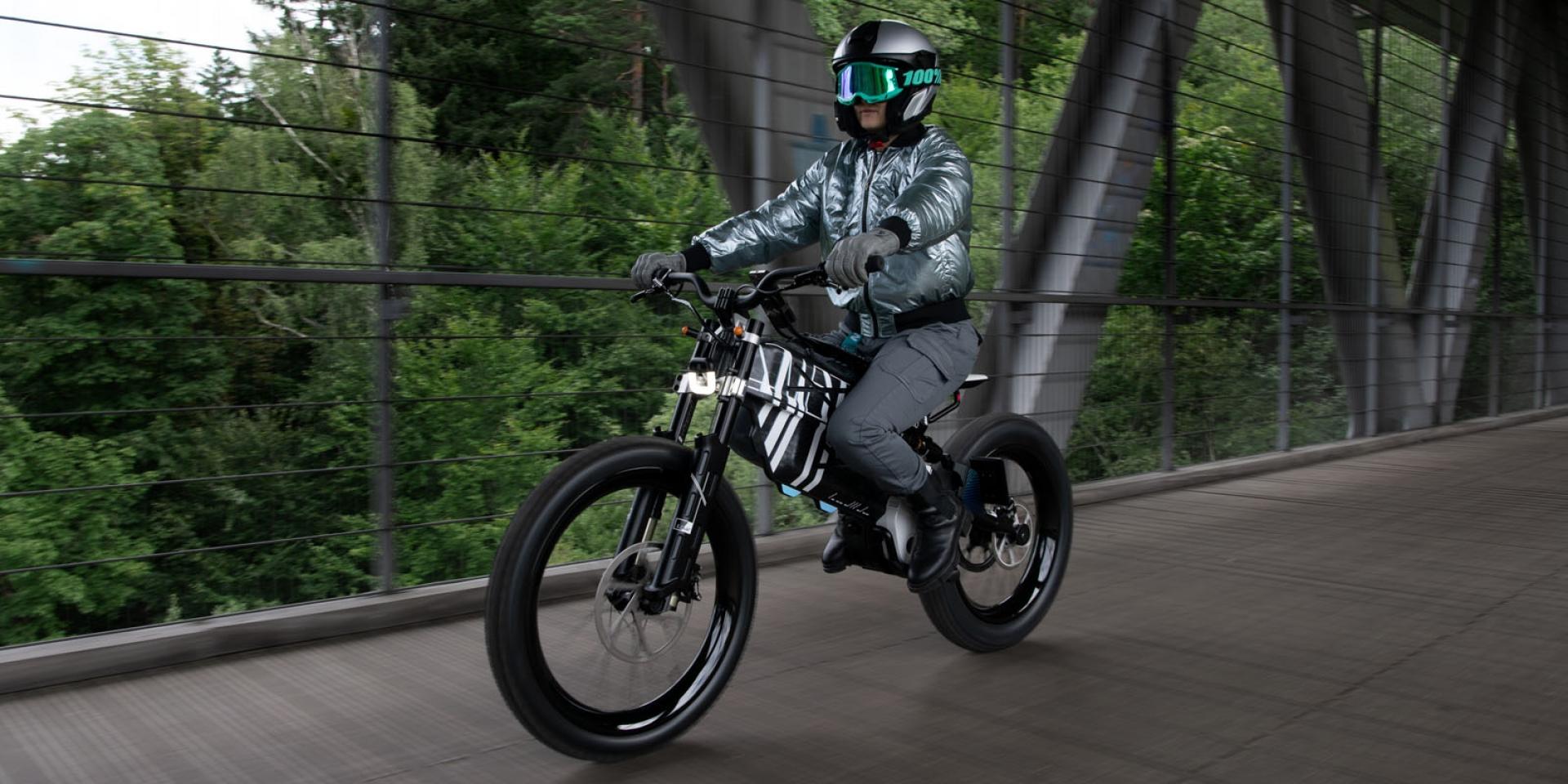 三種動力、極速60公里、續航300公里!BMW Motorrad Vision AMBY 概念電動車