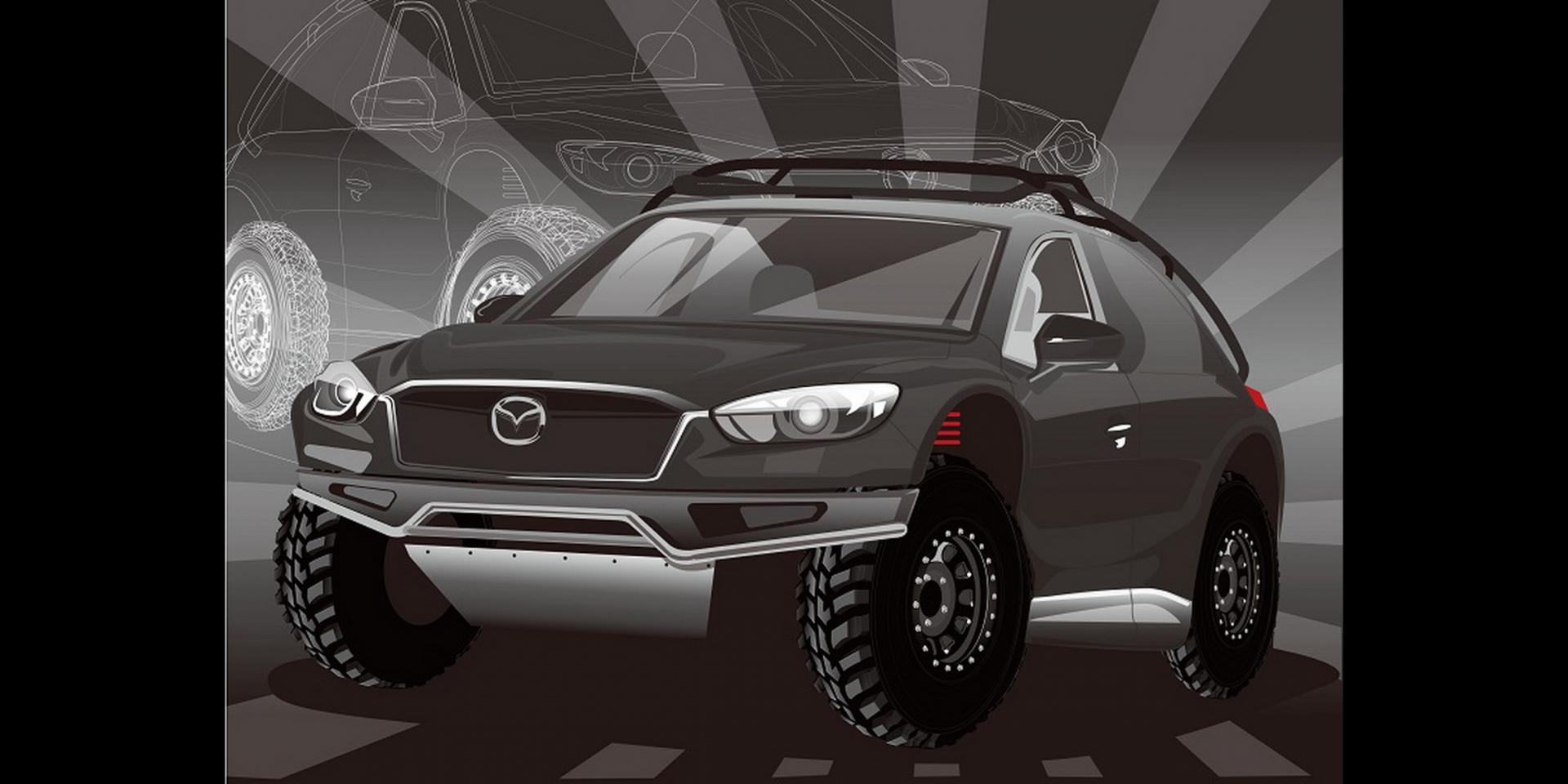 越野魂上身!Maxda CX-5大改裝成為全地形車款!