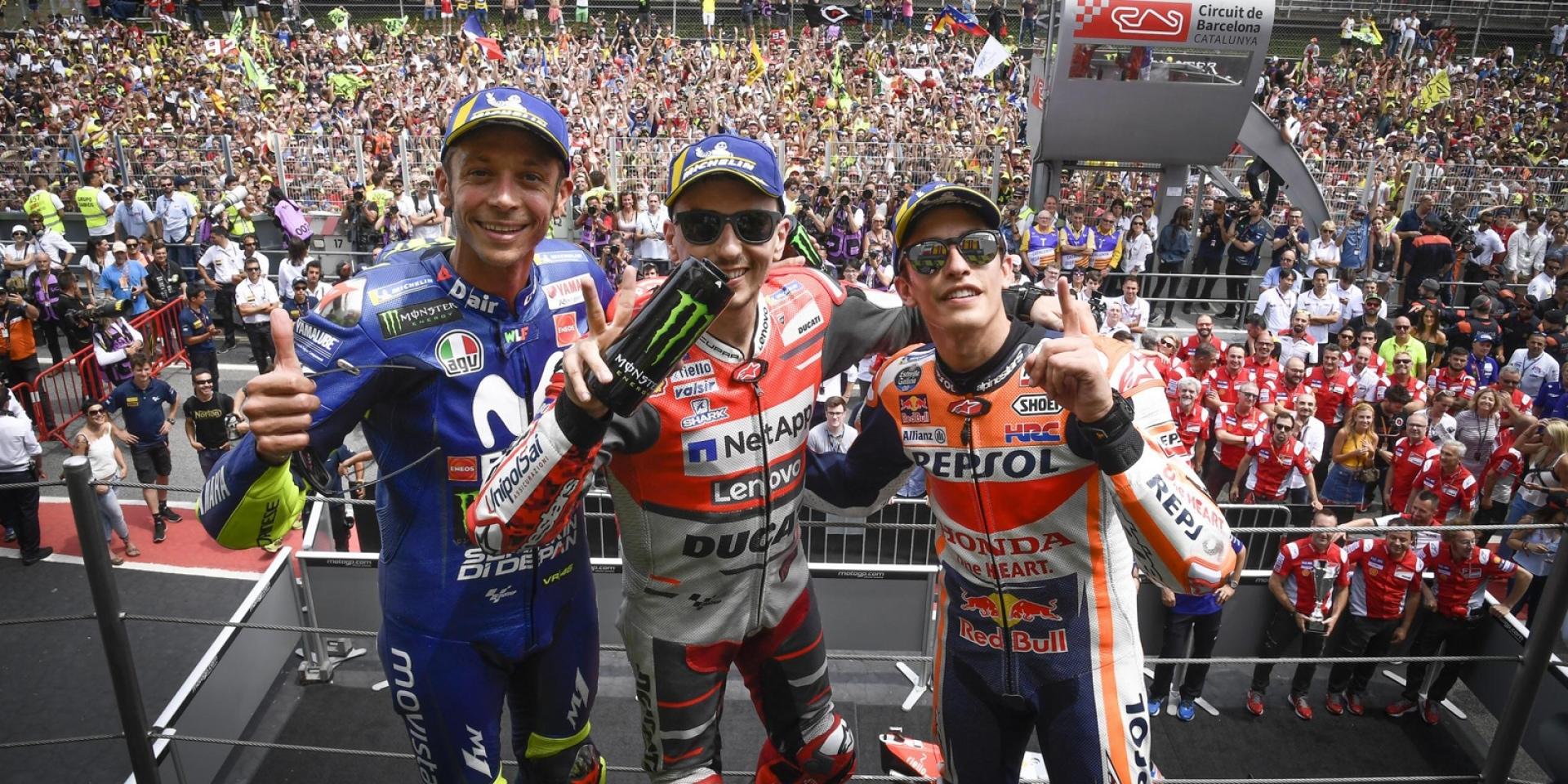 Rossi:如果我是車隊經理,我會找Marquez和Lorenzo來當車手。