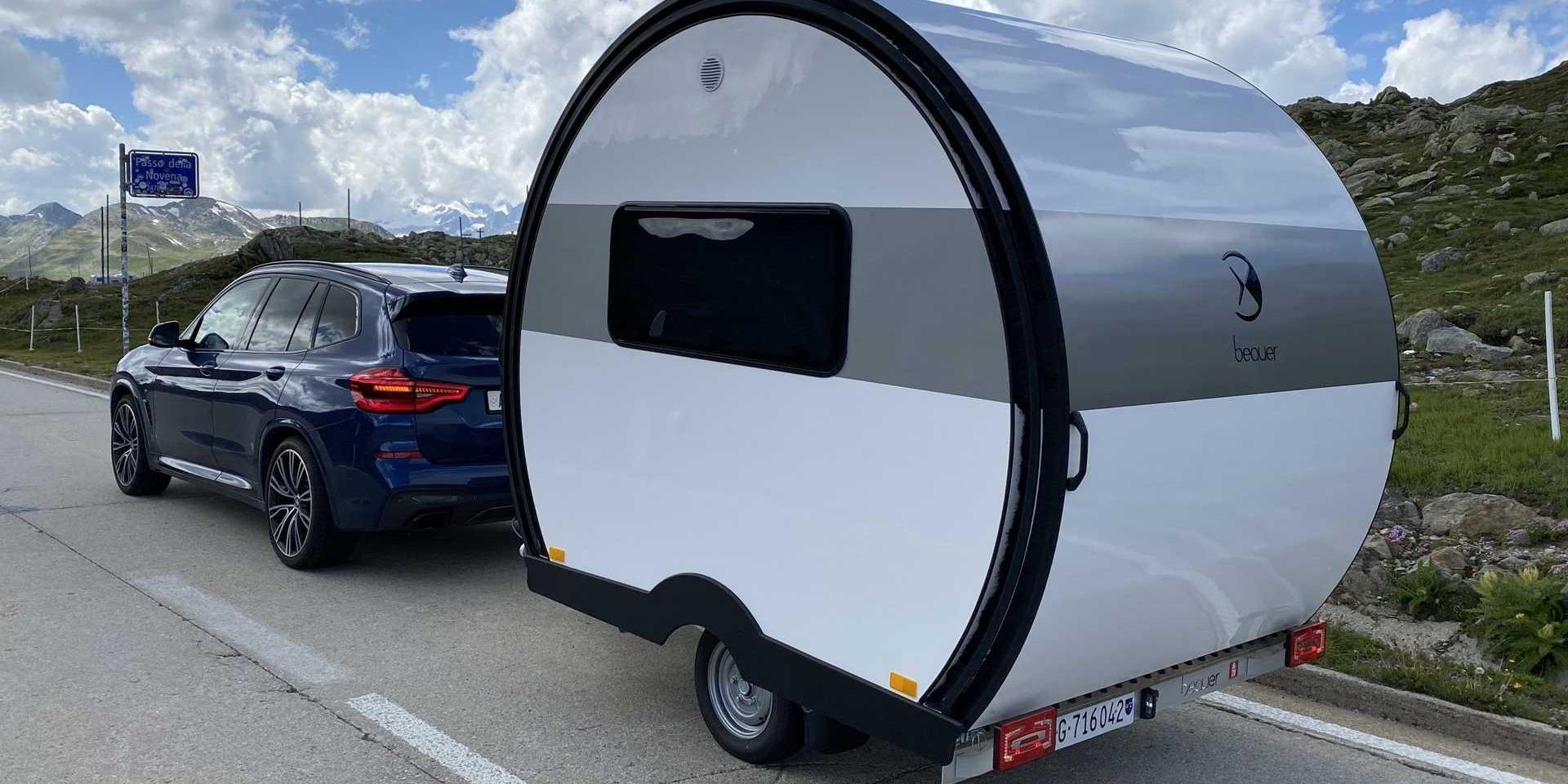 法國Beauer打造可伸展露營拖車!一分鐘空間擴大三倍!