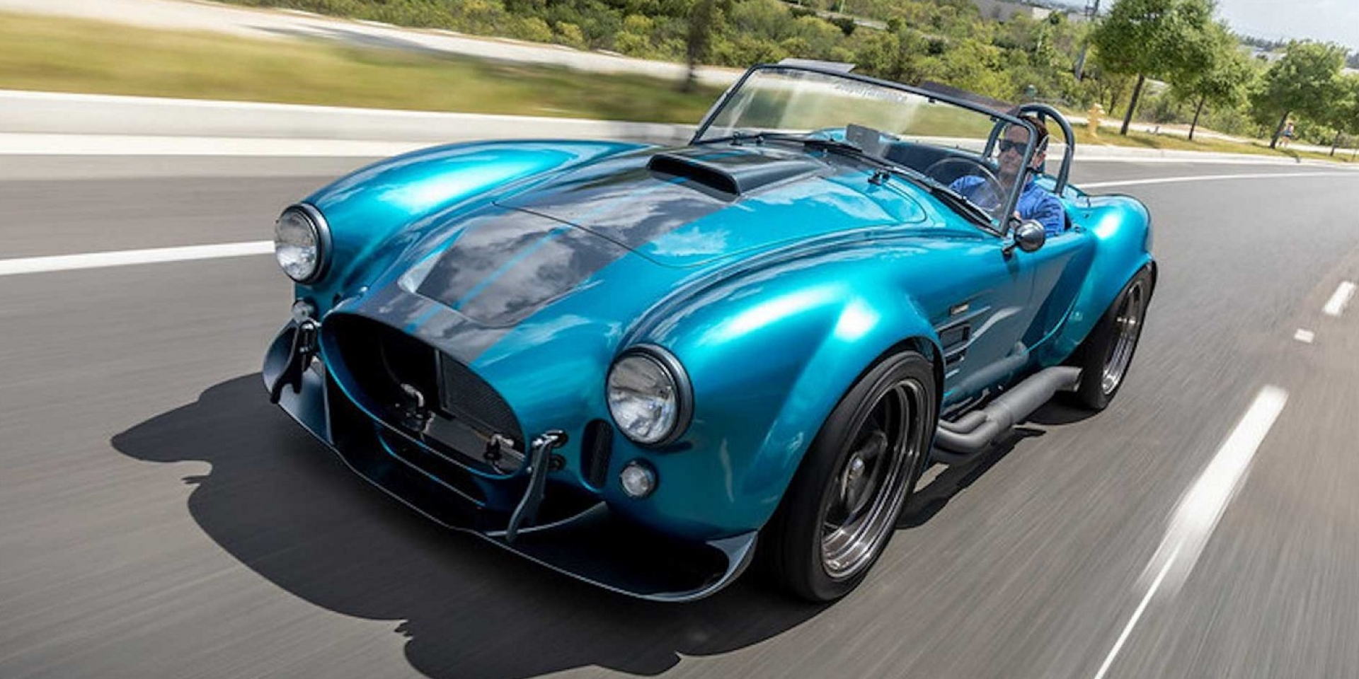 何種動力自己選,Superformance推出客製復刻Shelby Cobra MKIII-R