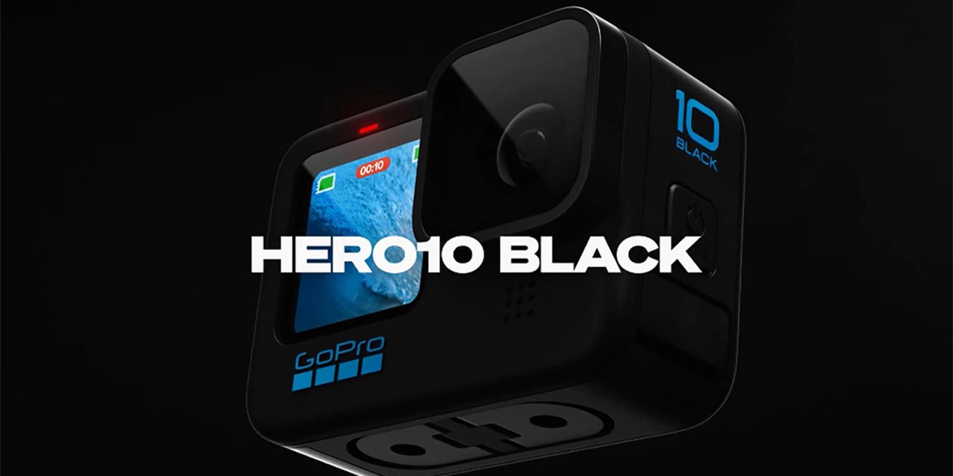23.6MP CMOS、GP2處理器。GoPro Hero 10 Black 17,000元正式發表!