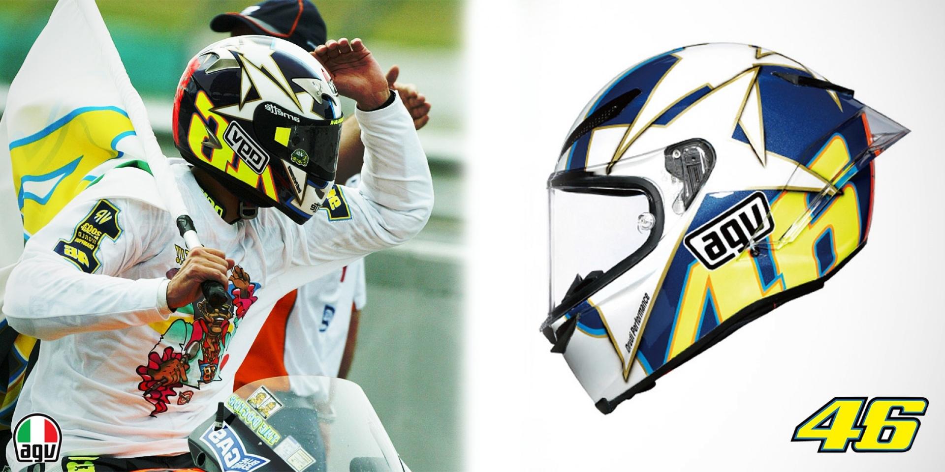 全球限量2003頂!Rossi五冠紀念帽海外預購中!