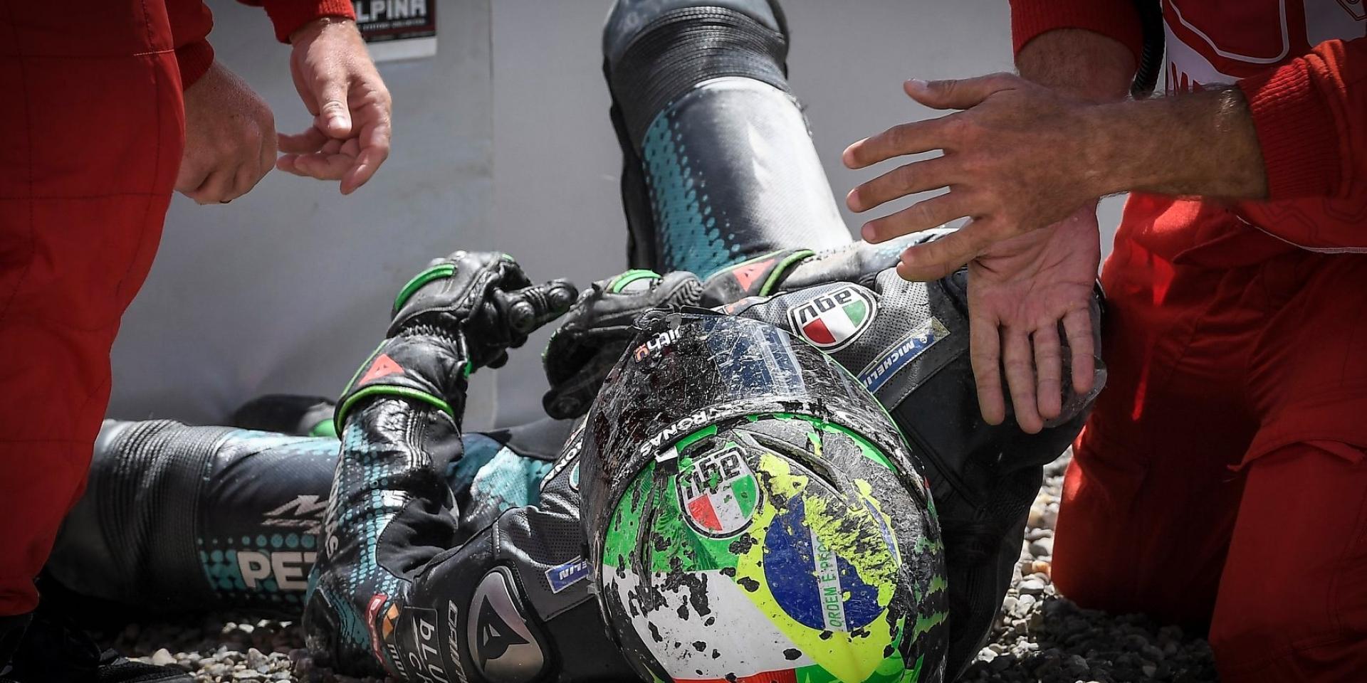 每次都有你?!Aleix Espargaro:我擔心Rossi的生命安全,但Johann Zarco總是會參與到賽道事故!