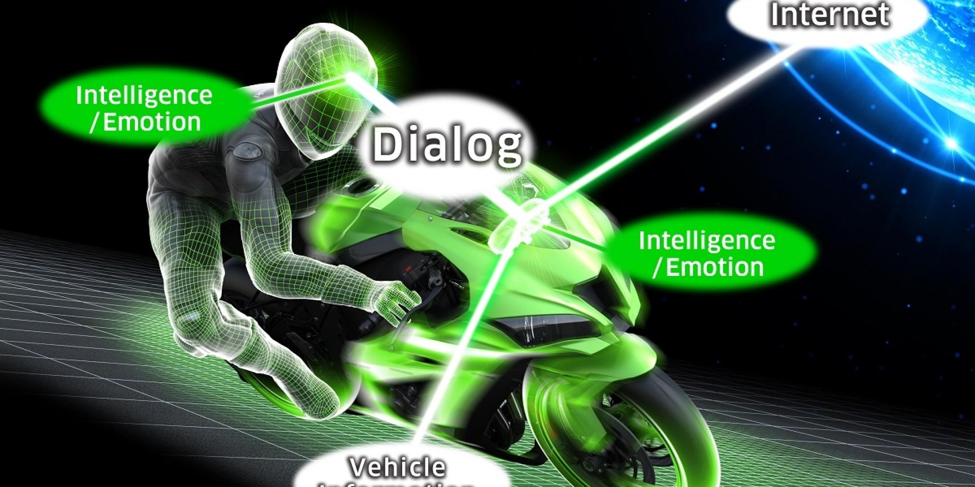 搭載Kawasaki Rideology,人人都能擁有霹靂車