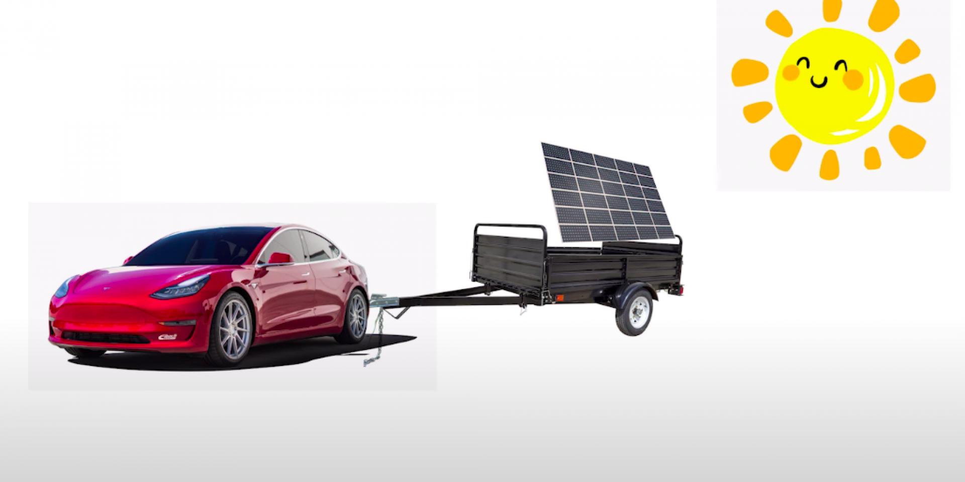 太陽能充Tesla不是問題!只是需要10天才能充飽!