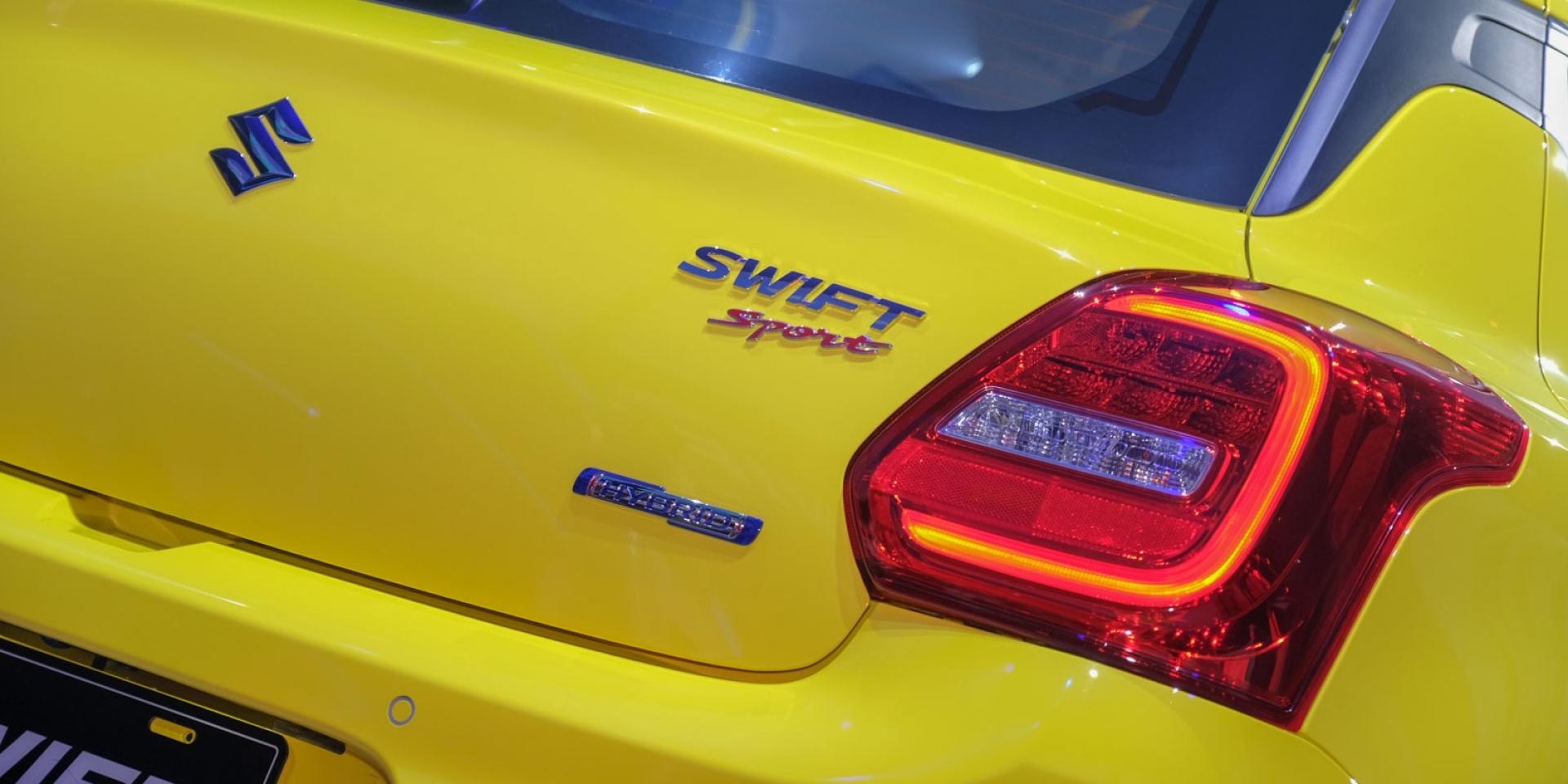 SPORT版本回來啦、六速「手排」單一設定!SUZUKI SWIFT Hybrid/Sport台灣正式發表