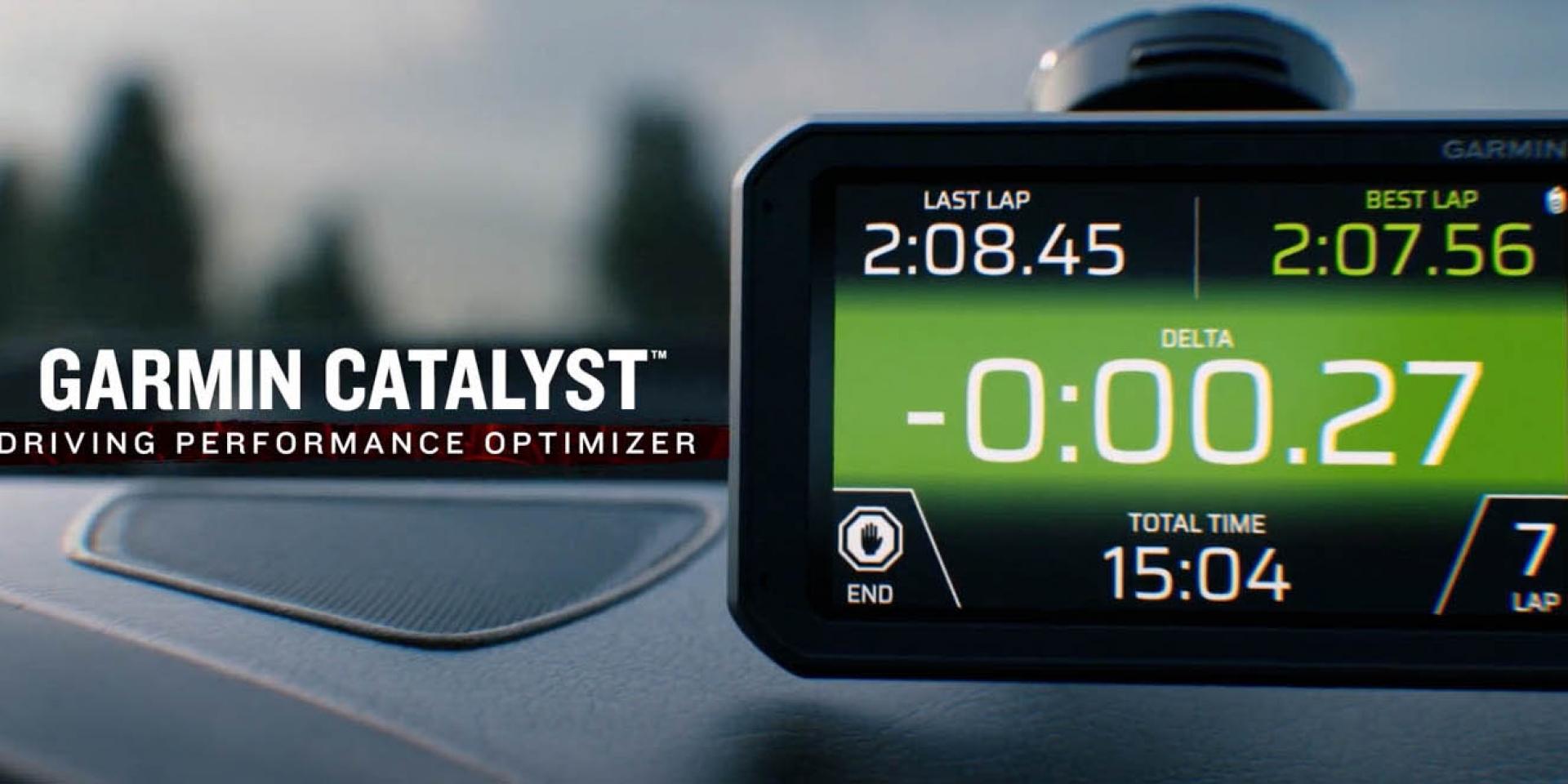 會教你開車的Garmin?GPS大廠Garmin推出賽車計時器