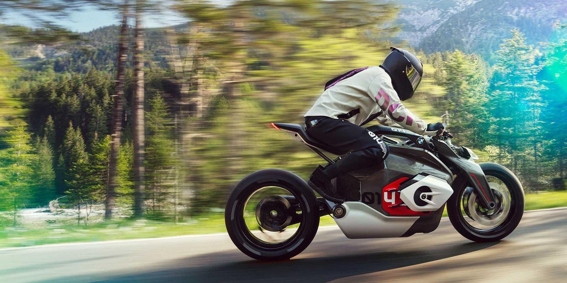 BMW兩輪電動跑車,Vision DC Roadster概念亮相!