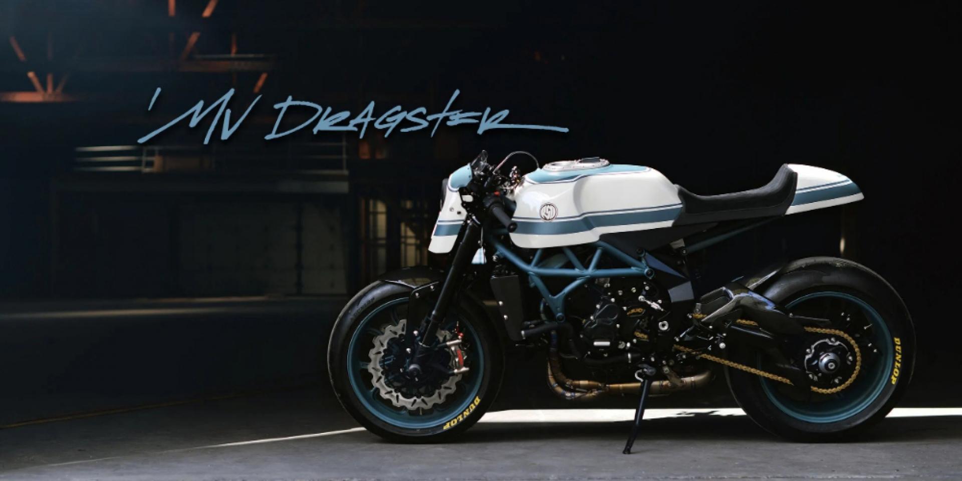 摩托車界的頂級藝術,MV Agusta Dragster 800 RR Custom by RSD!