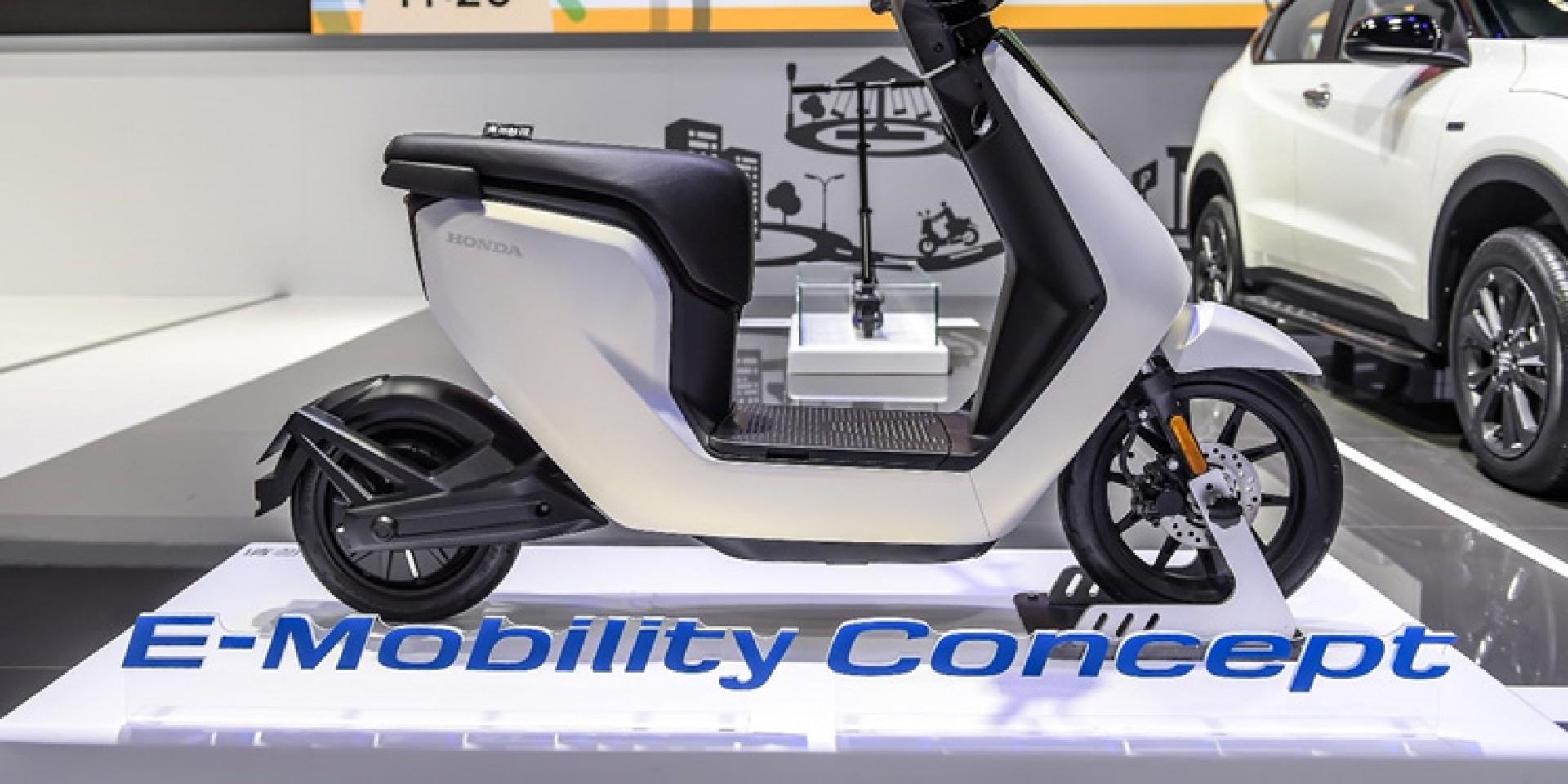 Honda佈局純電動機車市場,首款鋰電池電動機車2018年底發布