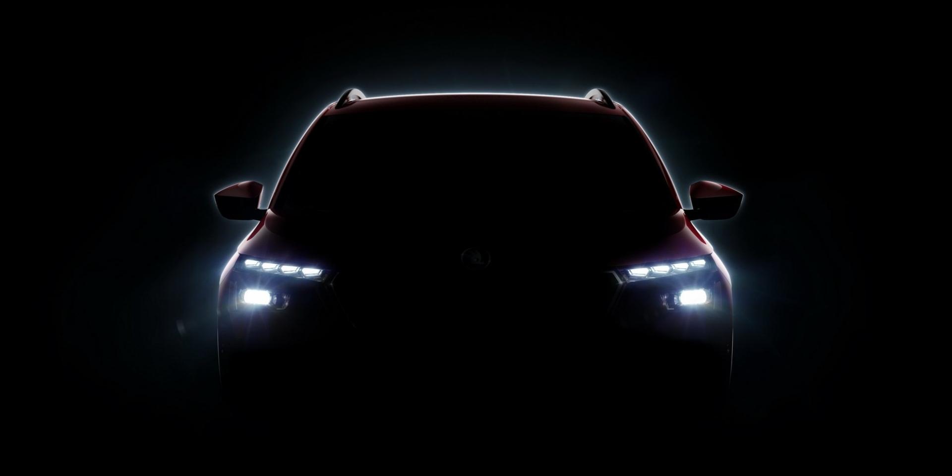 Skoda全新小型SUV預告!日內瓦車展發表Kosmiq?